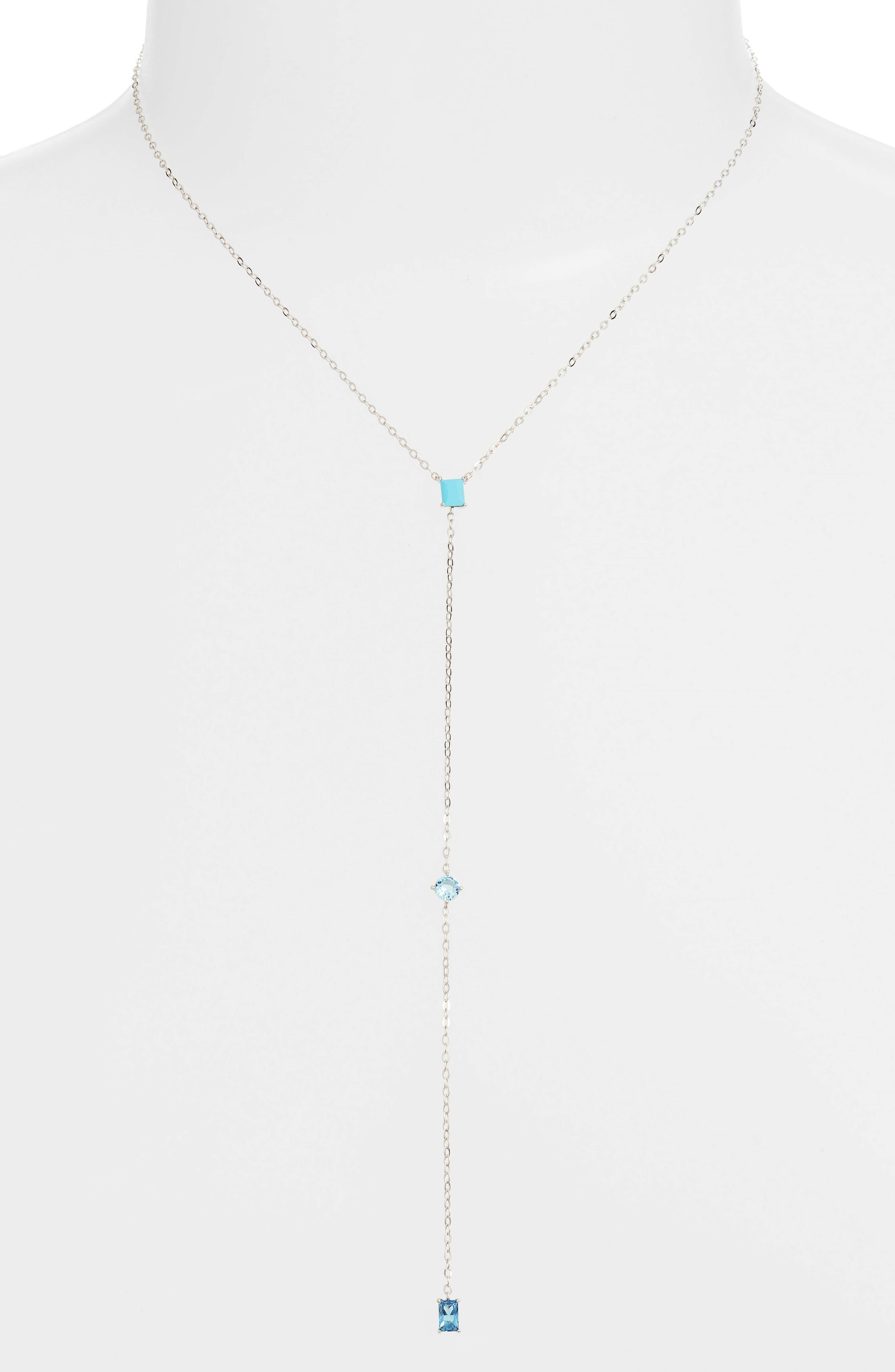 Tier Pendant Necklace,                         Main,                         color, SILVER
