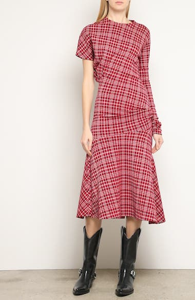 Tartan Asymmetrical Dress, video thumbnail