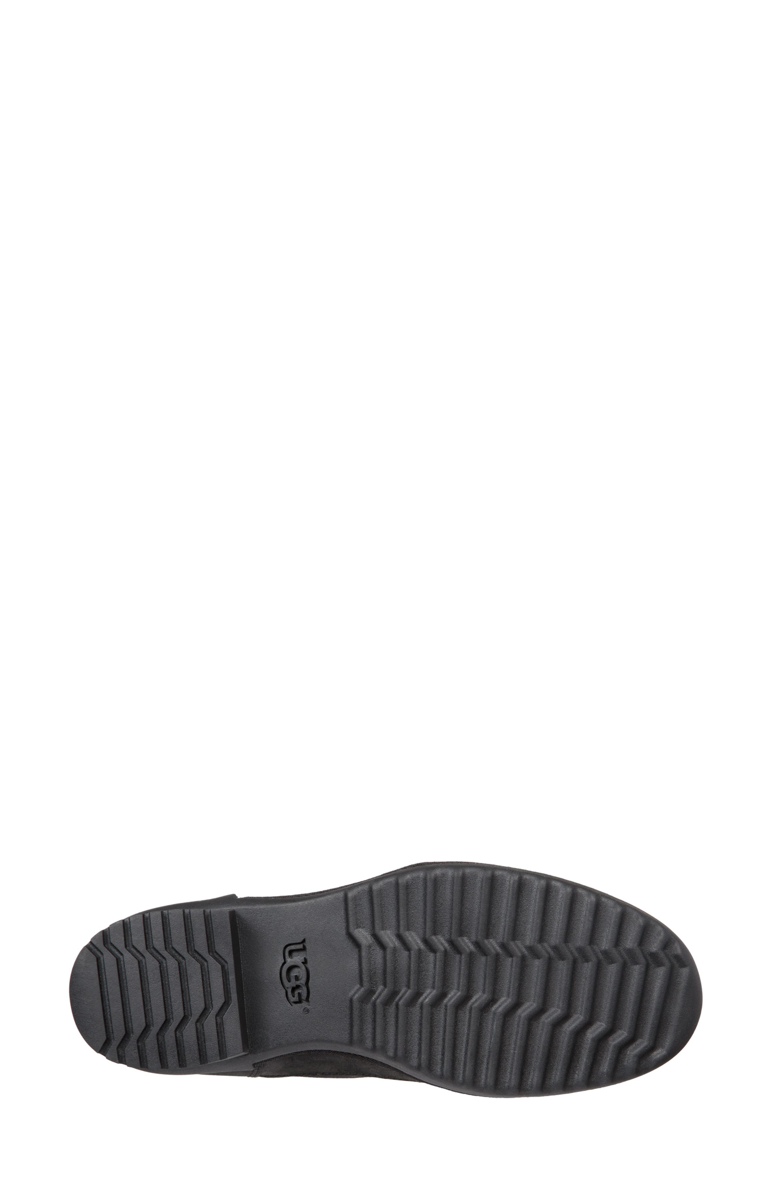 Tulane Waterproof Boot,                             Alternate thumbnail 5, color,                             BLACK LEATHER