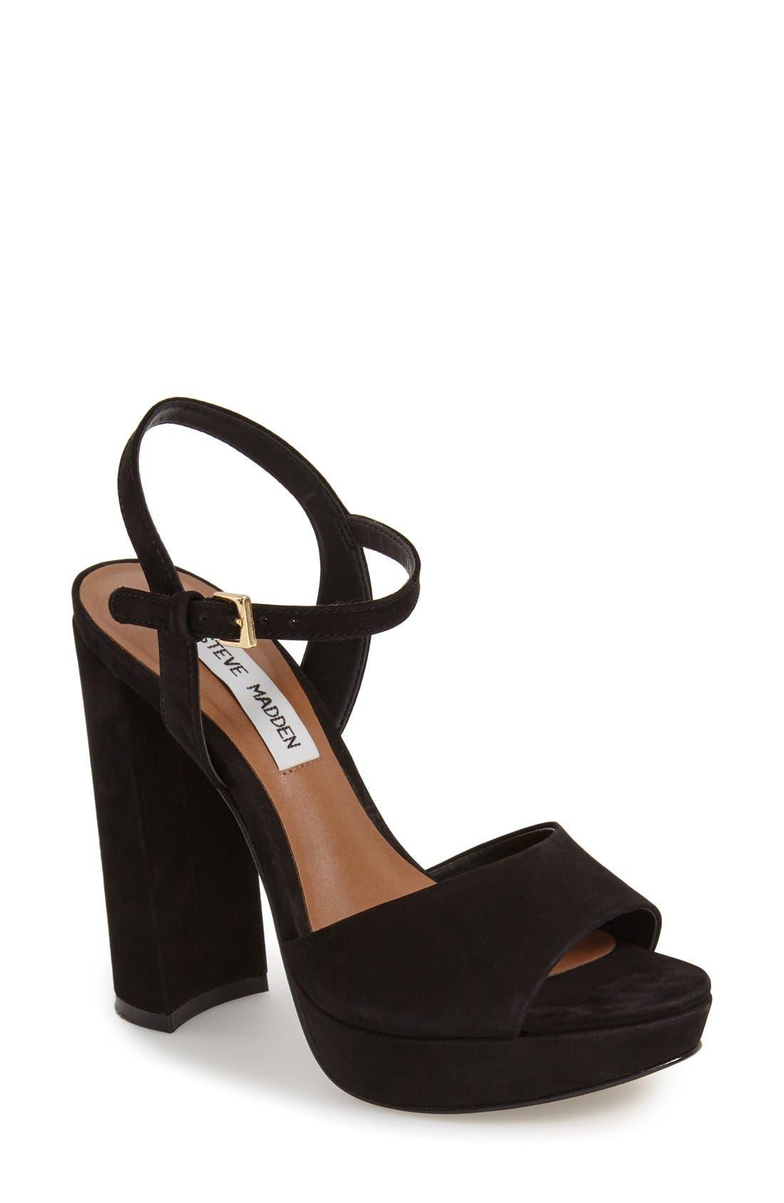 'Kierra' Platform Sandal,                             Main thumbnail 1, color,                             005