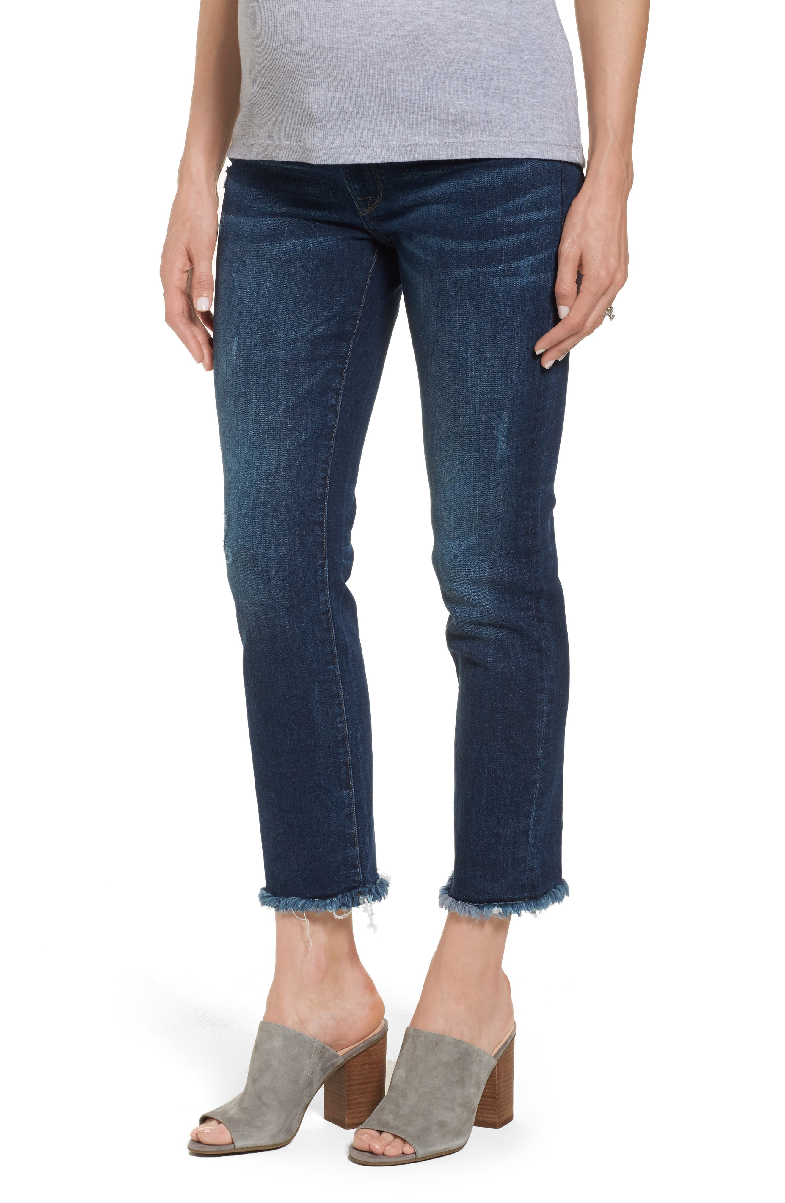 Mara Maternity Ankle Jeans,                         Main,                         color, 405