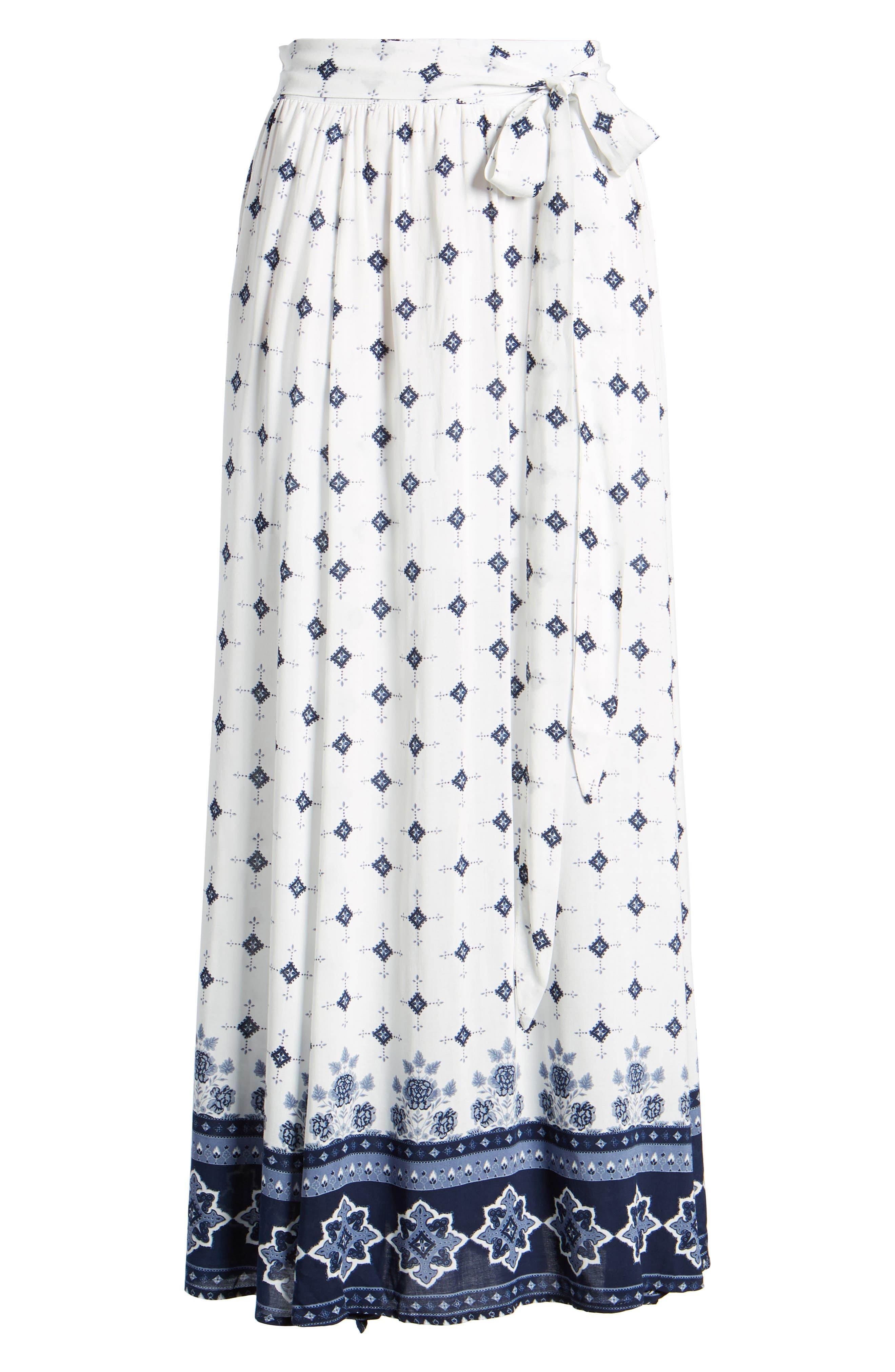 Morning Tides Maxi Skirt,                             Alternate thumbnail 6, color,
