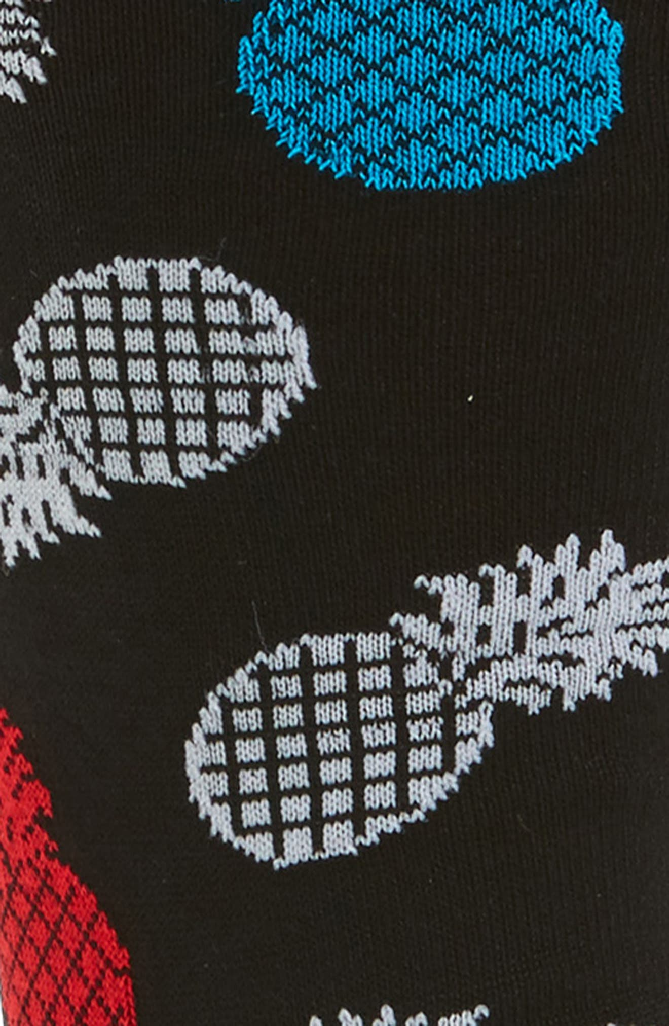 Pineapple Socks,                             Alternate thumbnail 2, color,                             001