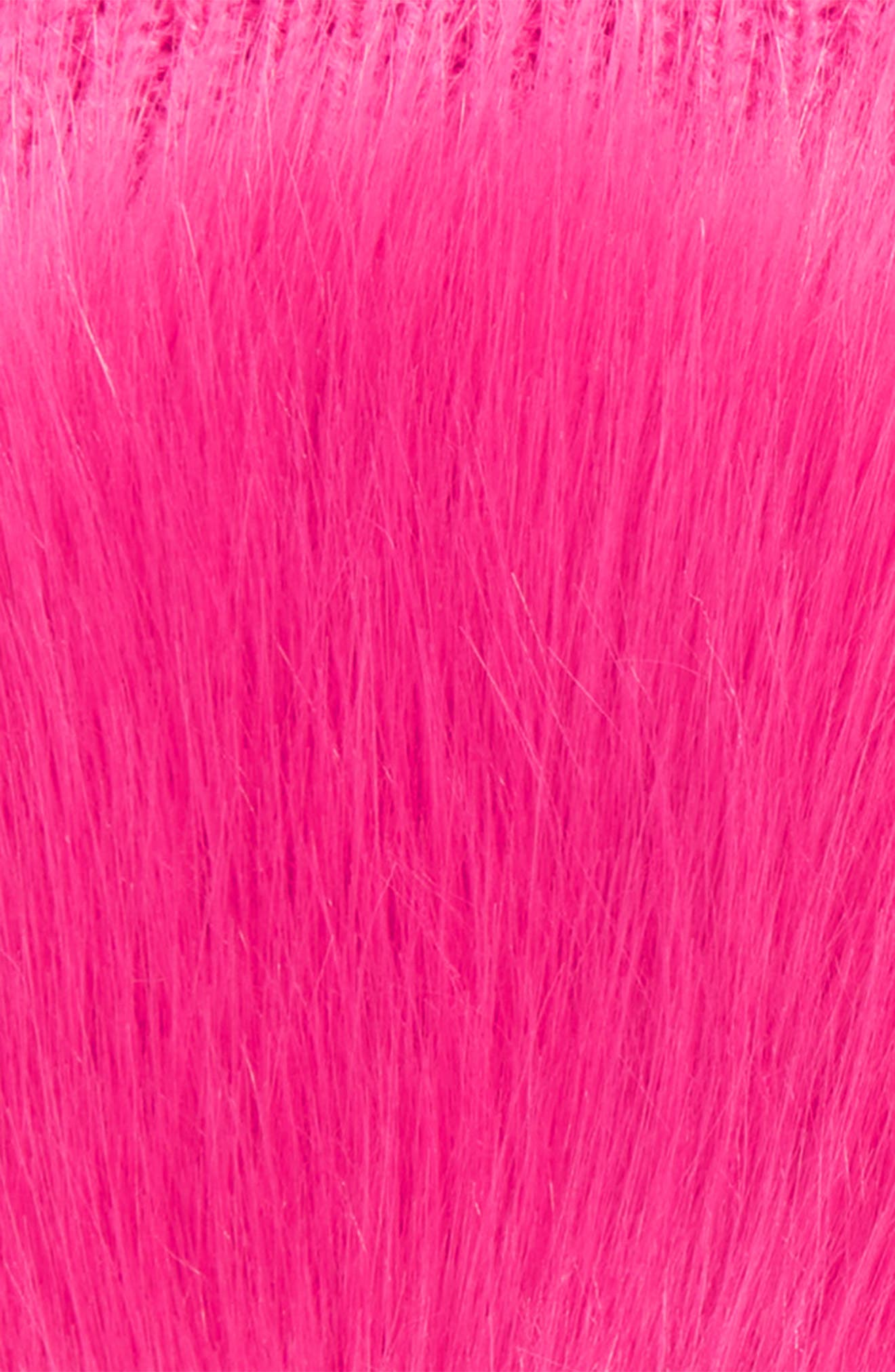 Faux Fur Hand Warmers,                             Alternate thumbnail 2, color,                             PINK STORM