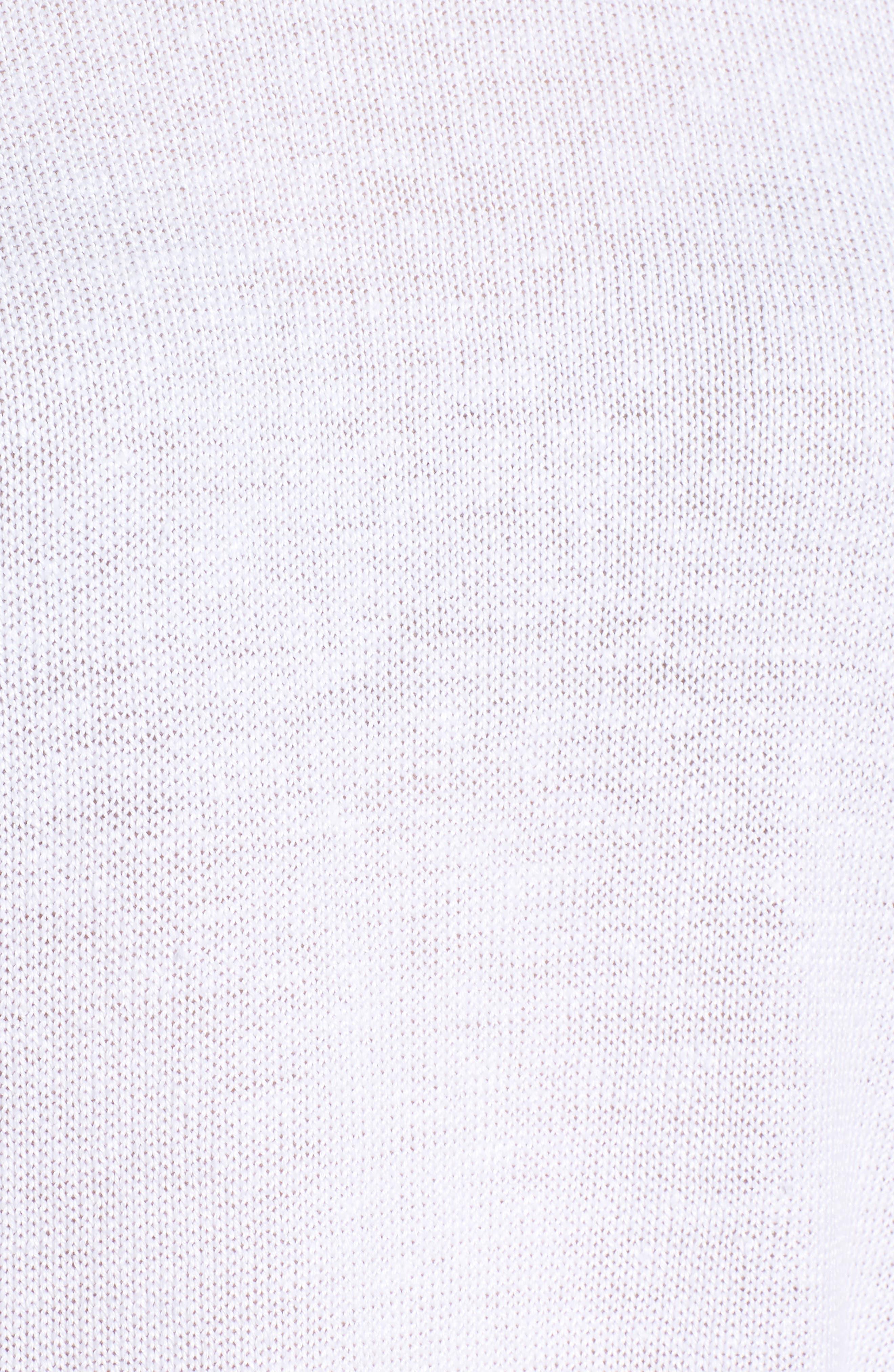Short Organic Linen Poncho Top,                             Alternate thumbnail 23, color,