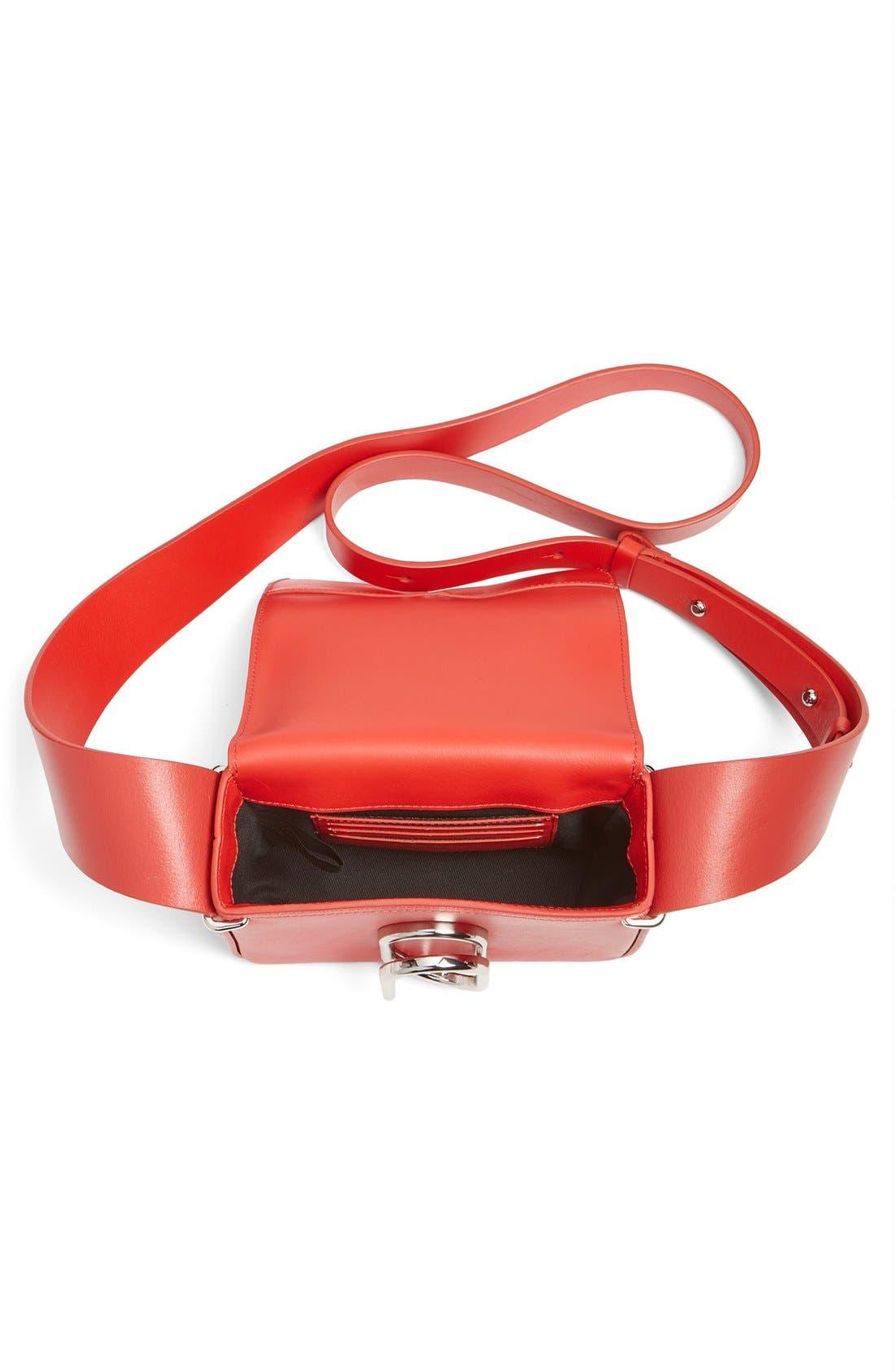 'Mini Alix' Leather Shoulder Bag,                             Alternate thumbnail 11, color,