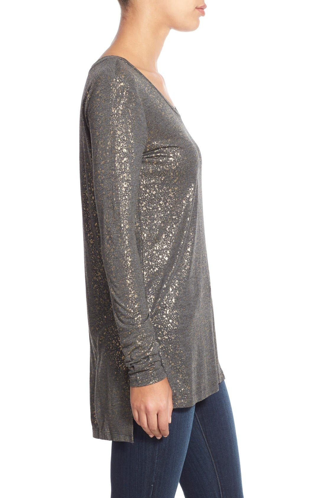 Long Sleeve Lightweight Tunic,                             Alternate thumbnail 39, color,