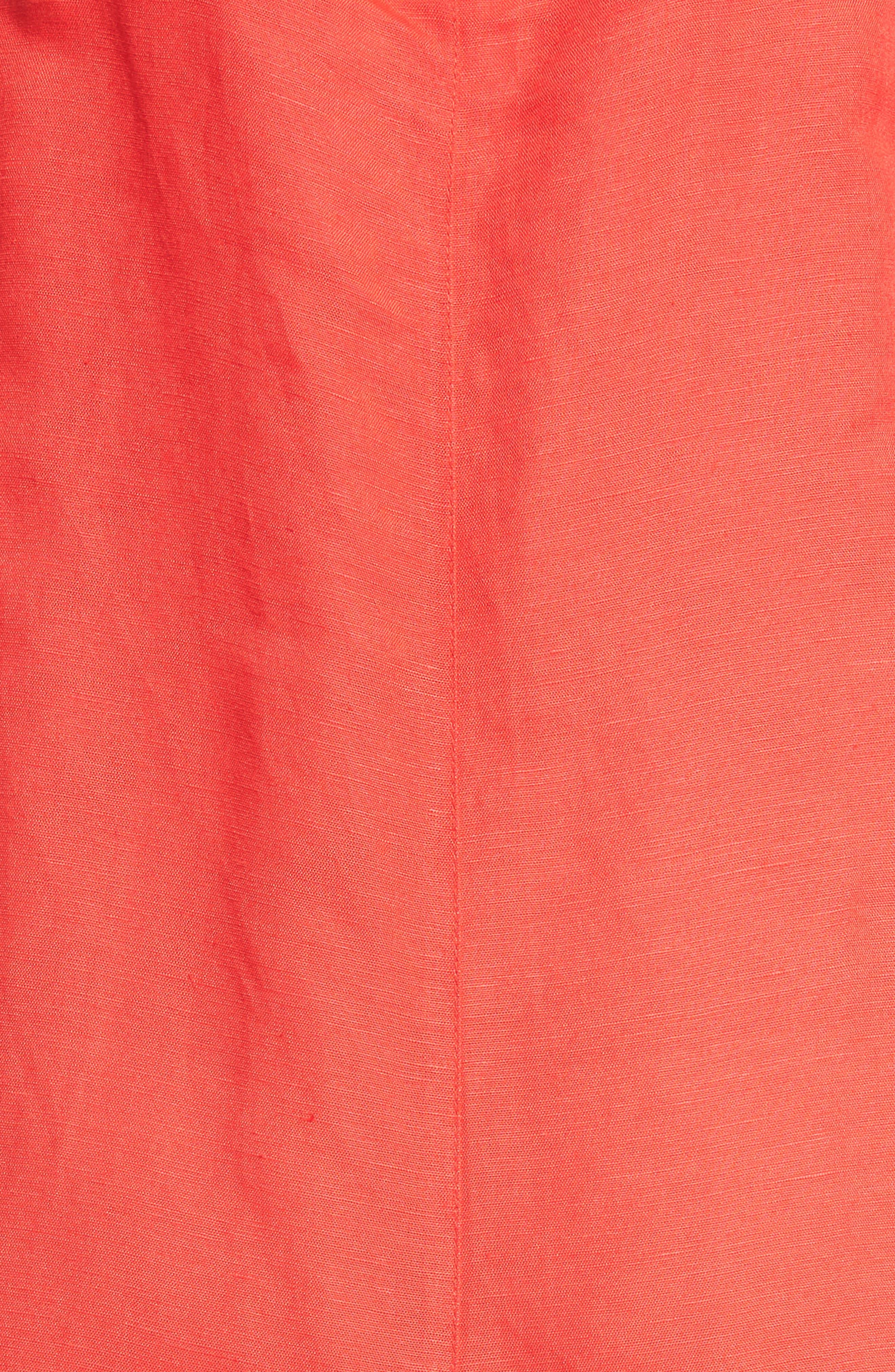 Woven Shift Dress,                             Alternate thumbnail 5, color,                             626
