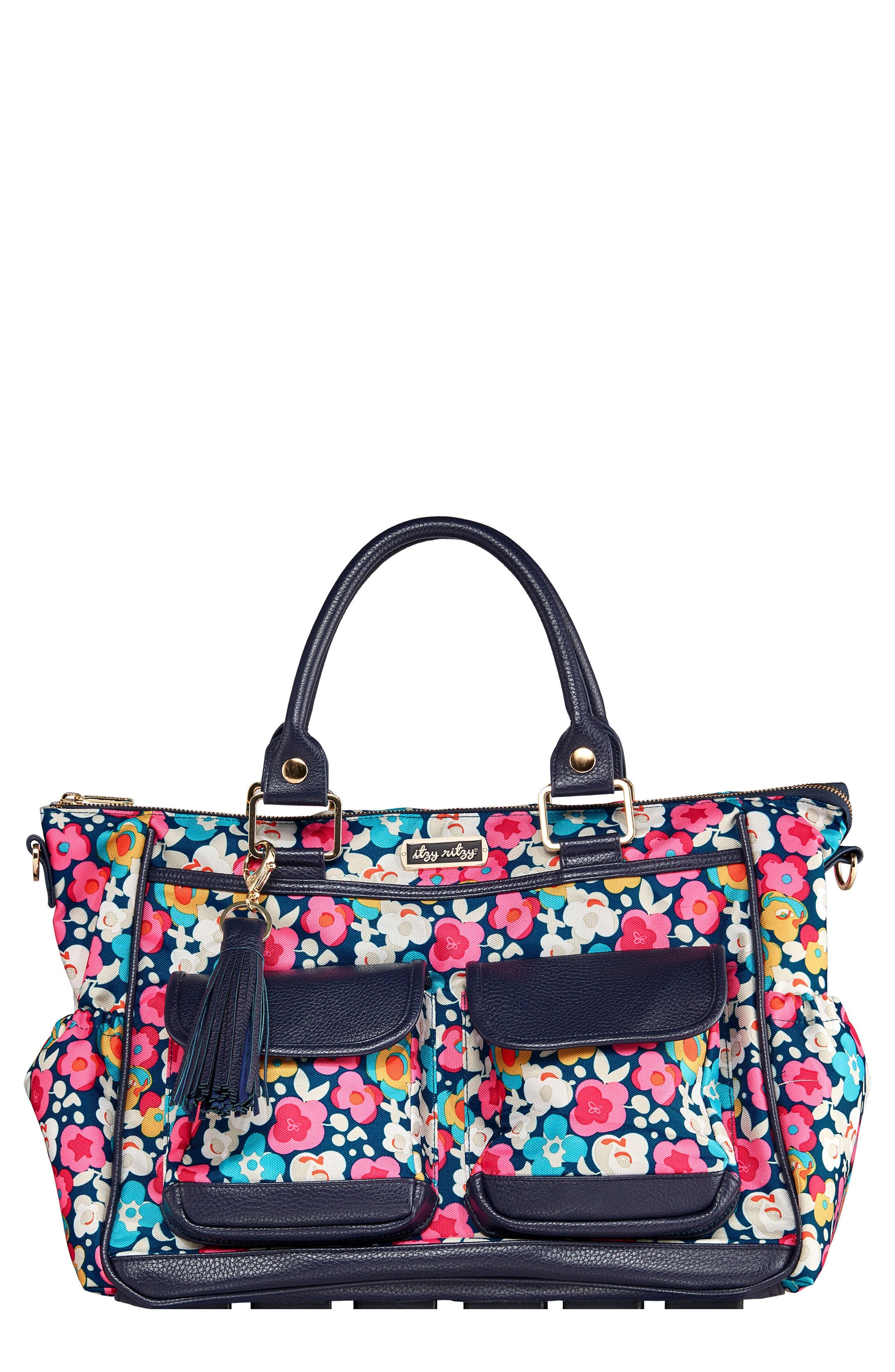 Convertible Diaper Bag,                         Main,                         color, POSY POP