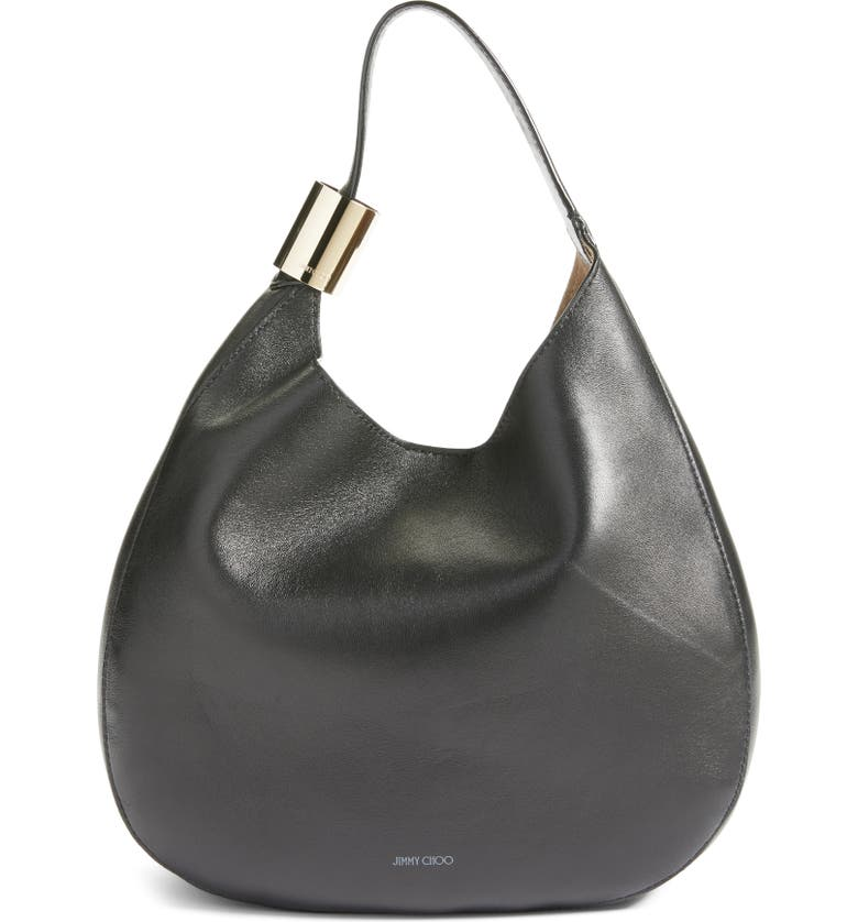 Stevie Lambskin Leather Hobo