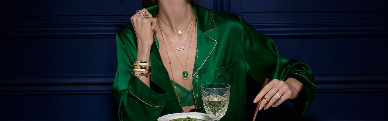 Fine jewelry at Nordstrom featuring Messika jewelry.