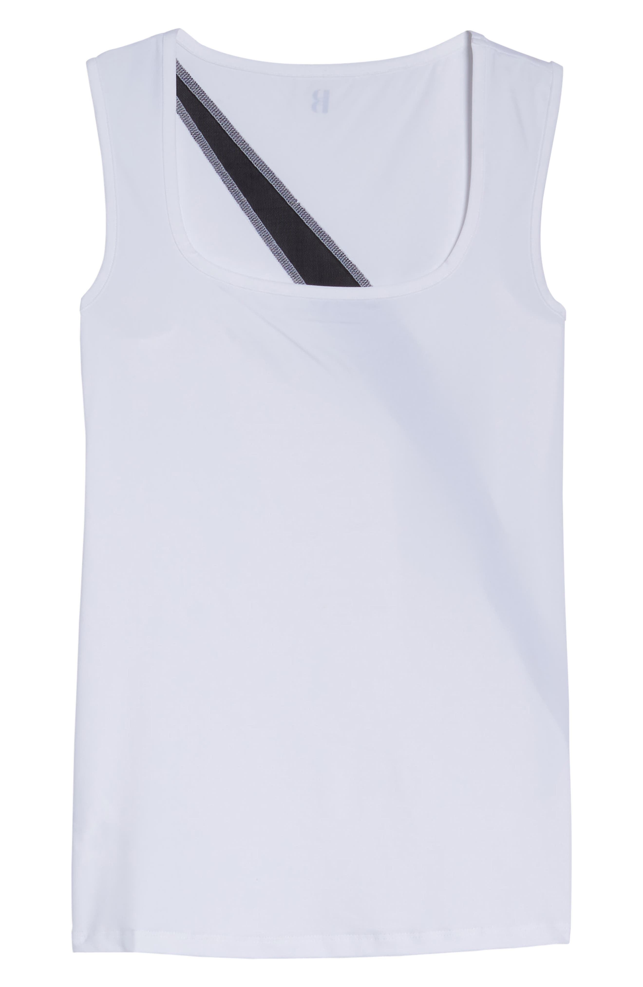 BoomBoom Athletica Sport Racerback Tank,                             Alternate thumbnail 7, color,                             100