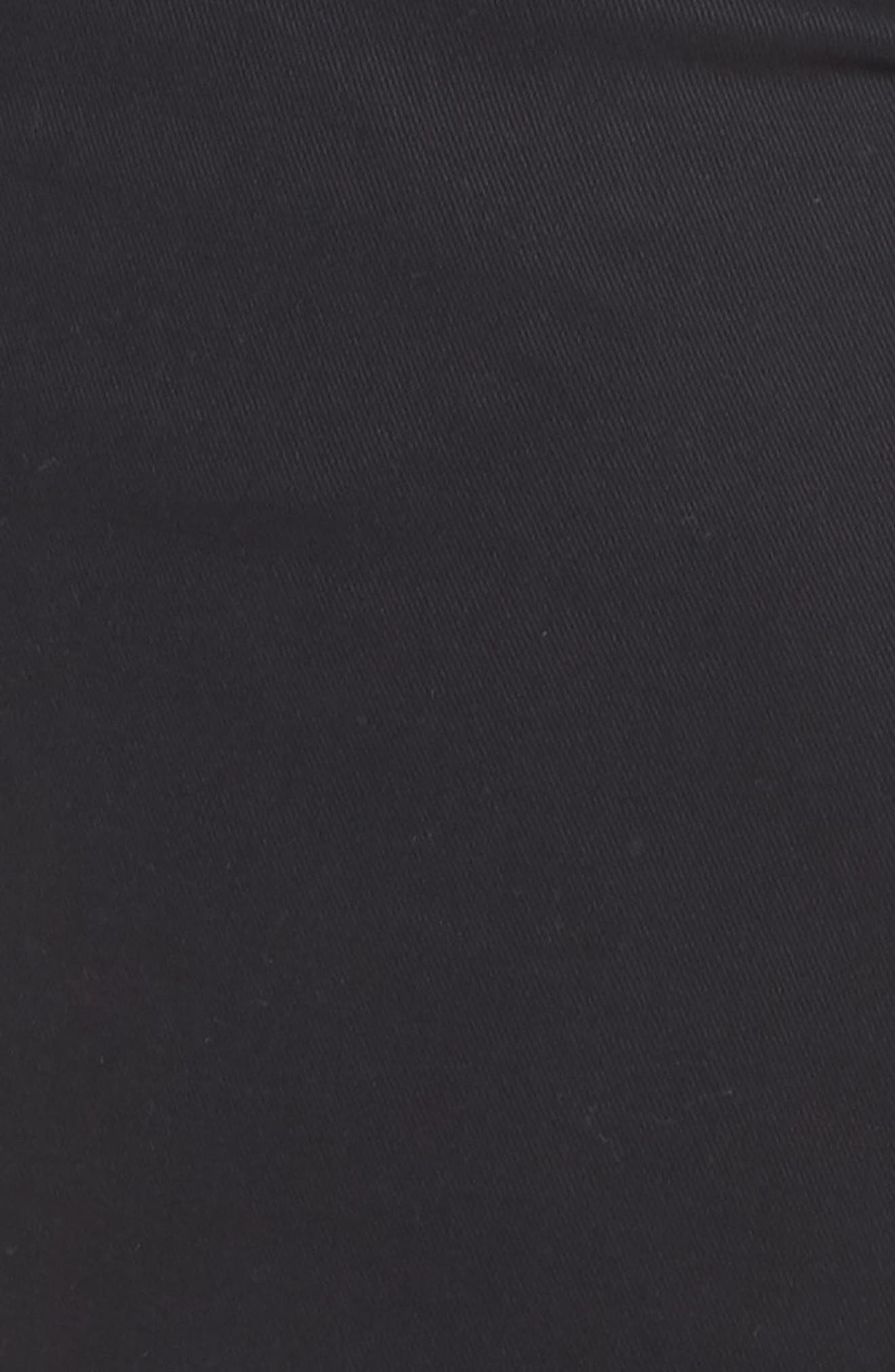 JAG JEANS,                             Gracie Bermuda Shorts,                             Alternate thumbnail 6, color,                             BLACK