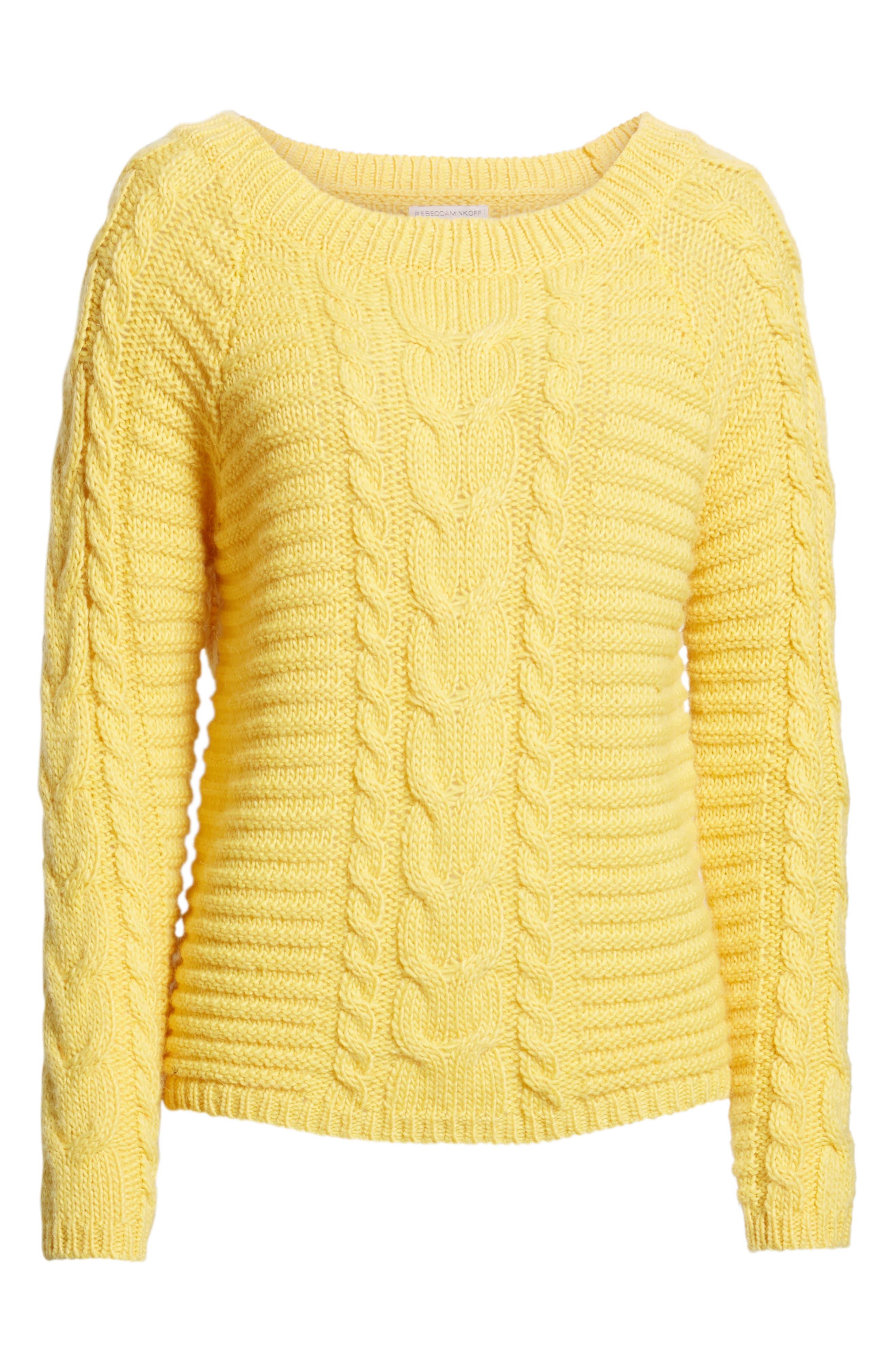 REBECCA MINKOFF,                             Juna Sweater,                             Alternate thumbnail 6, color,                             700
