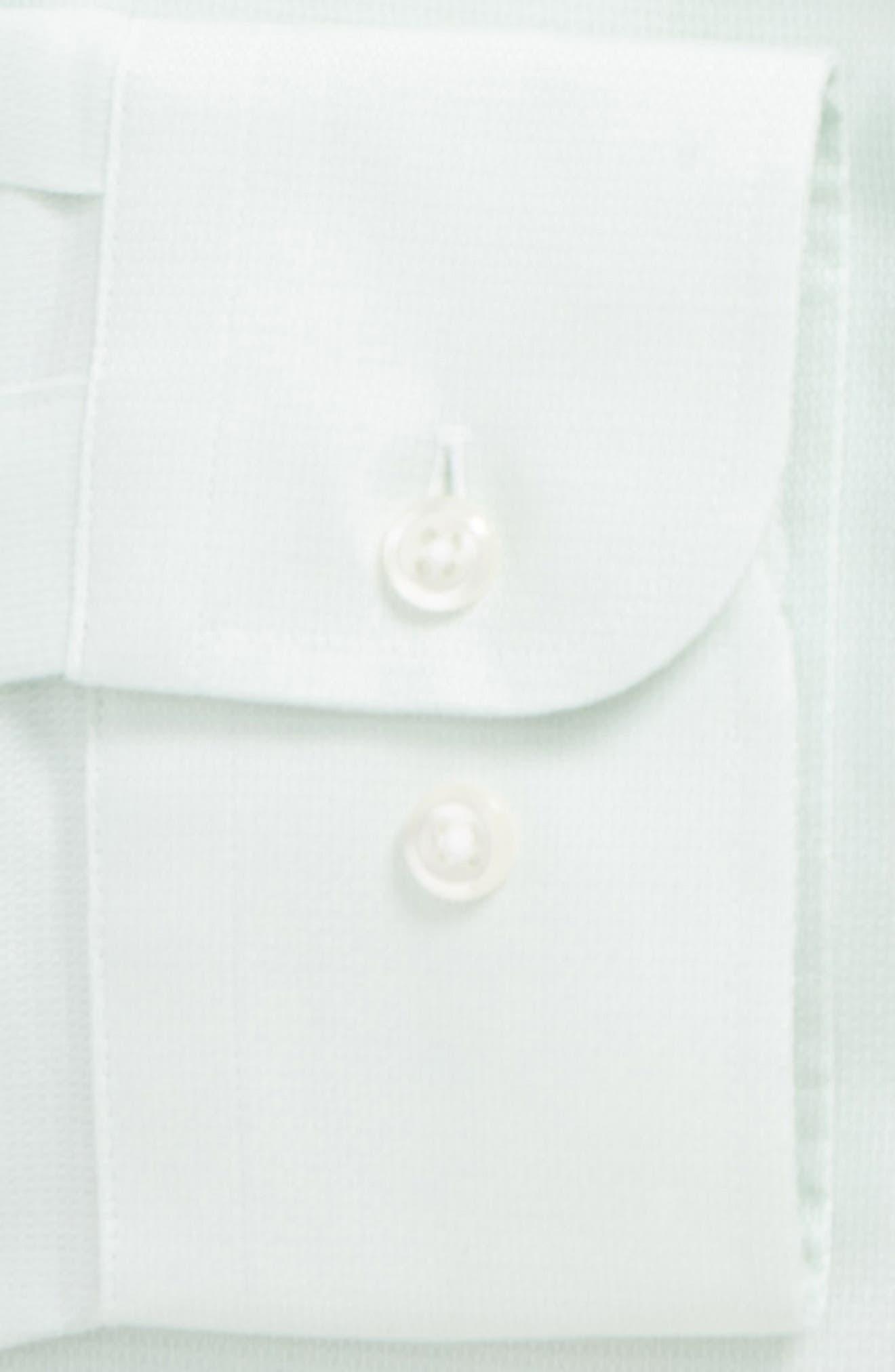 Trim Fit Solid Dress Shirt,                             Alternate thumbnail 25, color,