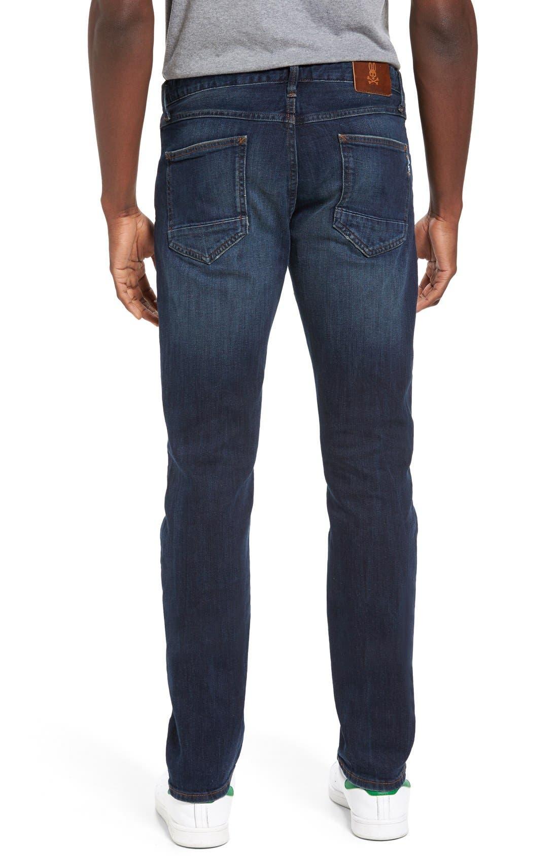 Spitfire Slim Fit Jeans,                             Alternate thumbnail 4, color,                             INDIGO