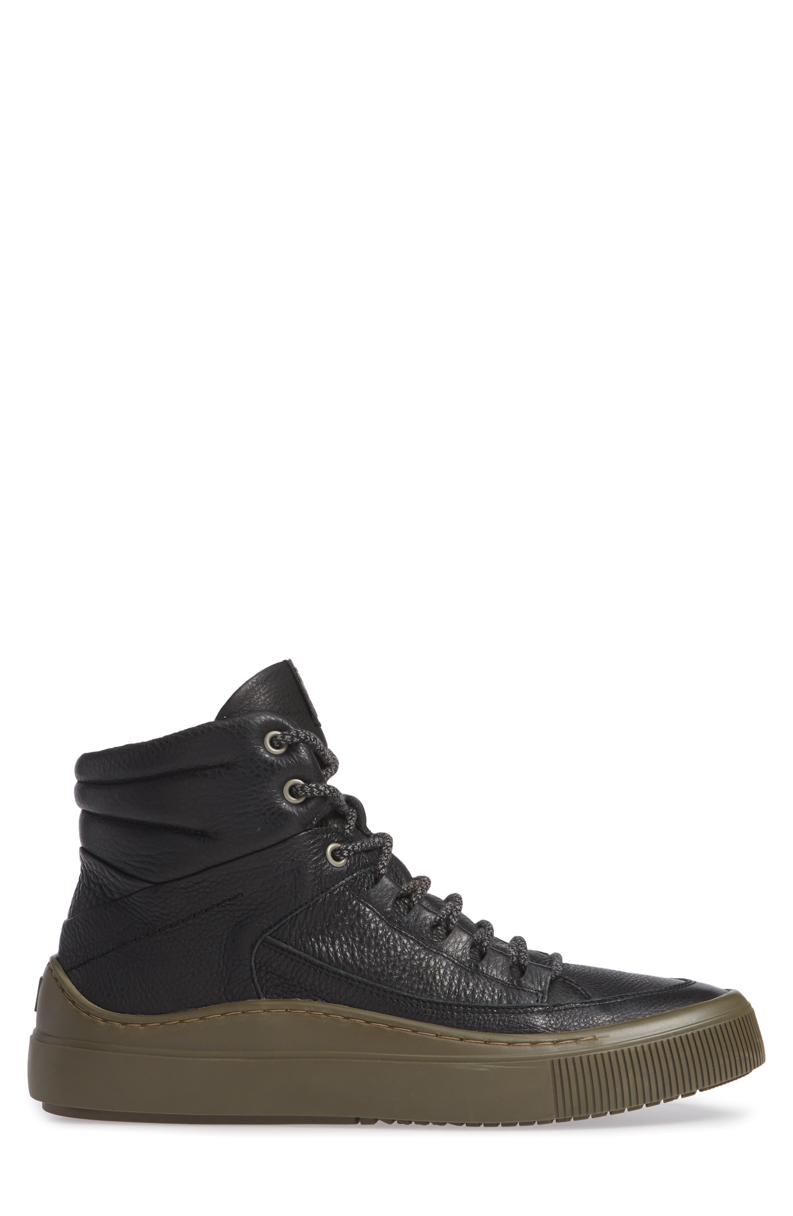 Samu Sneaker,                             Alternate thumbnail 3, color,                             BLACK/ NICOTINE BRITO
