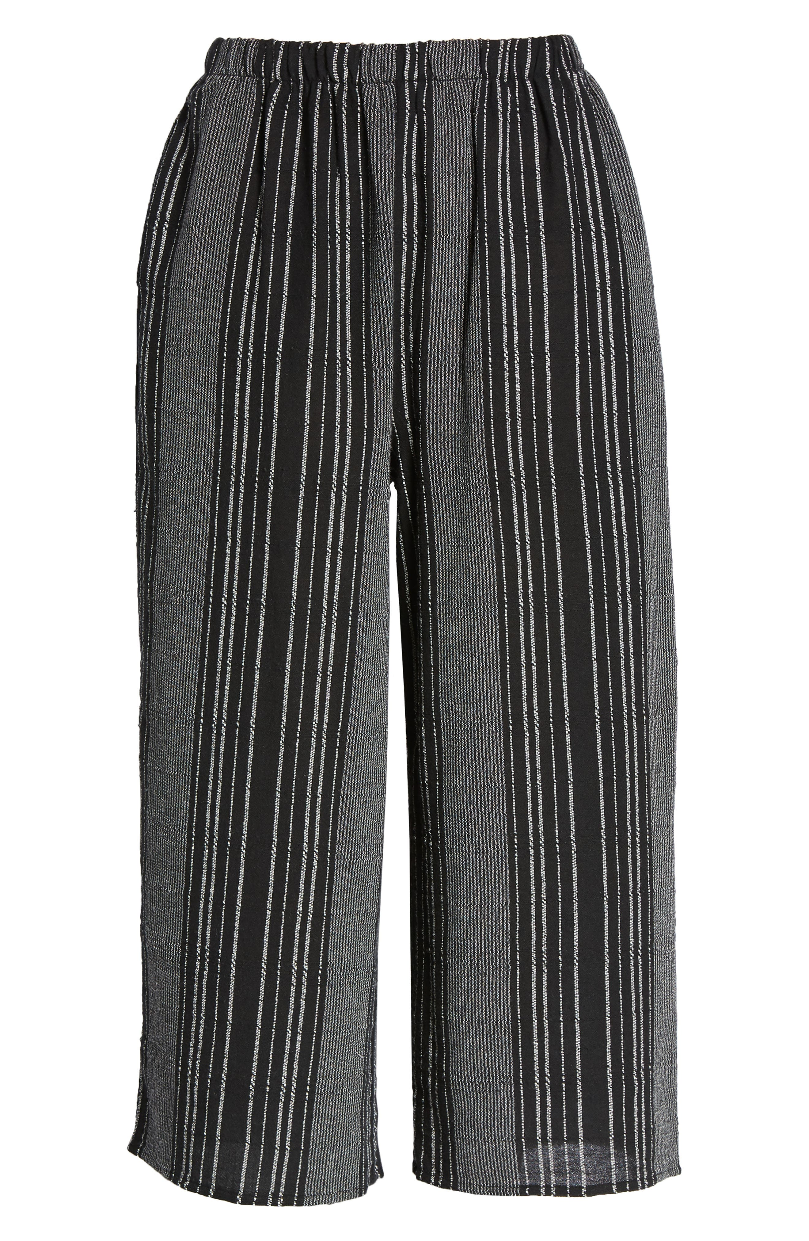 Bella Stripe Crop Pants,                             Alternate thumbnail 7, color,