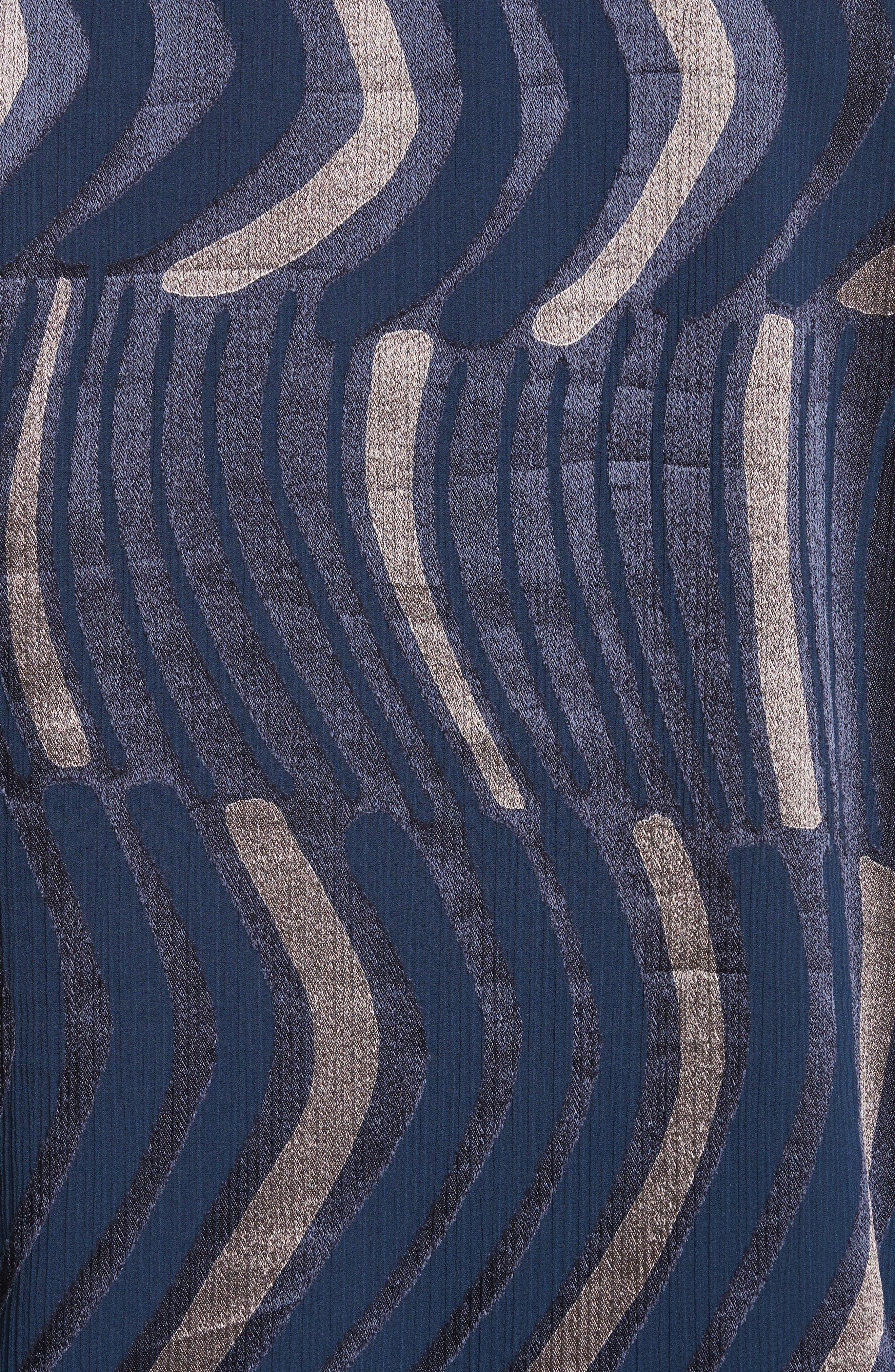 Sela Ingenue Devoré Blouse,                             Alternate thumbnail 5, color,                             484