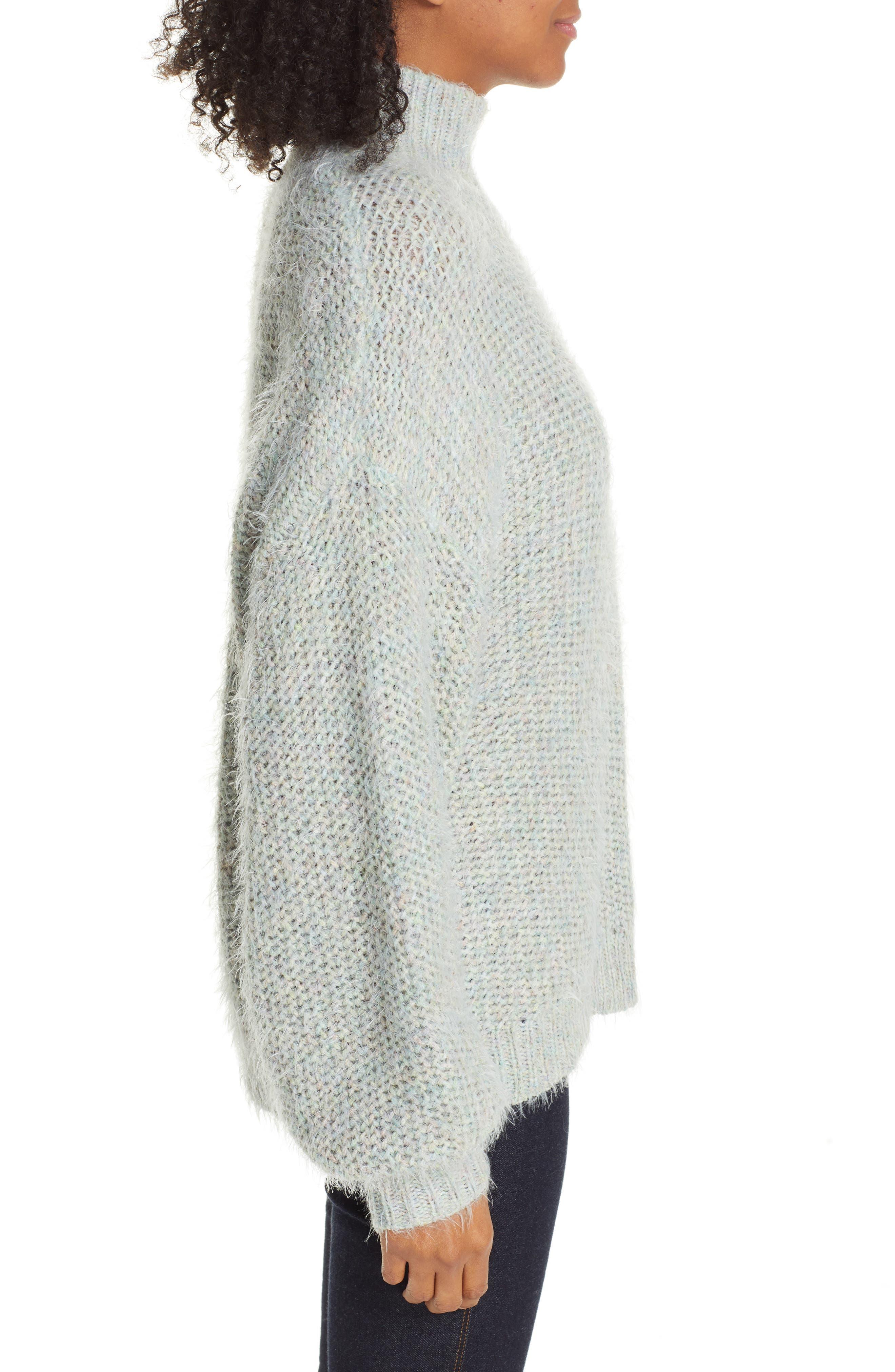 Markita Sweater,                             Alternate thumbnail 3, color,                             HEATHER CELADON