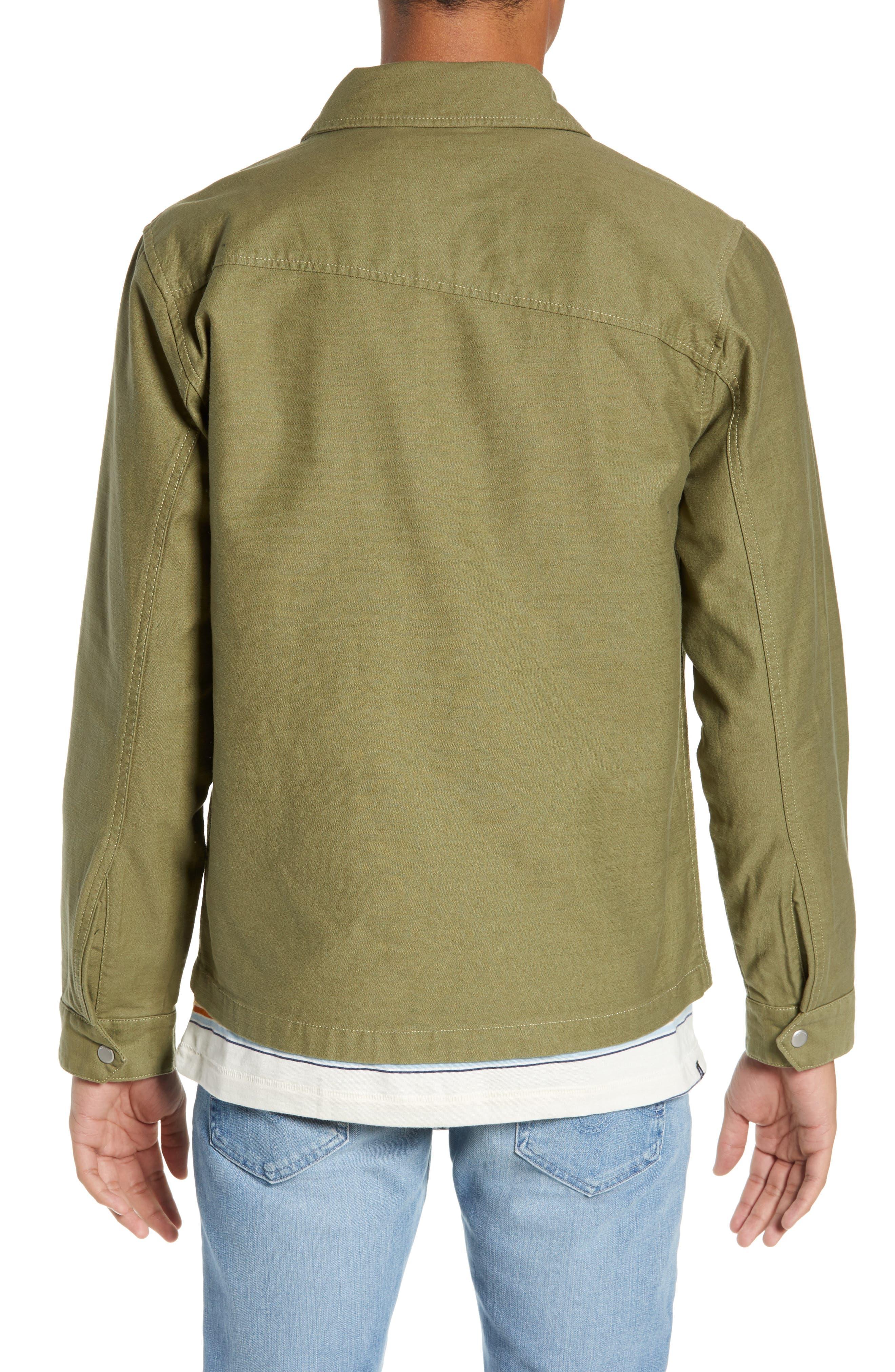 Burkey Jacket,                             Alternate thumbnail 2, color,                             VINE GREEN