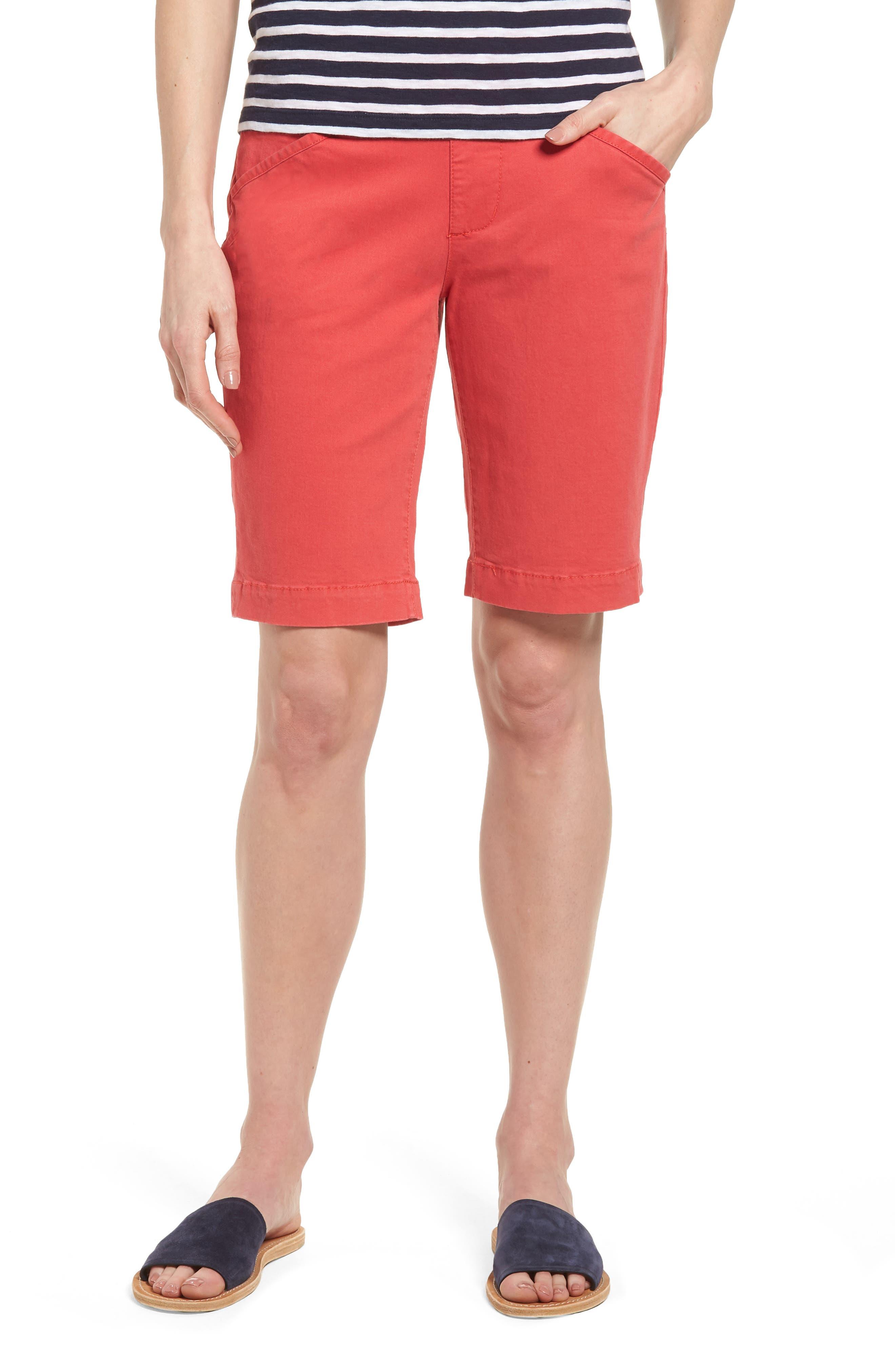 'Ainsley' Slim Bermuda Shorts,                             Main thumbnail 2, color,