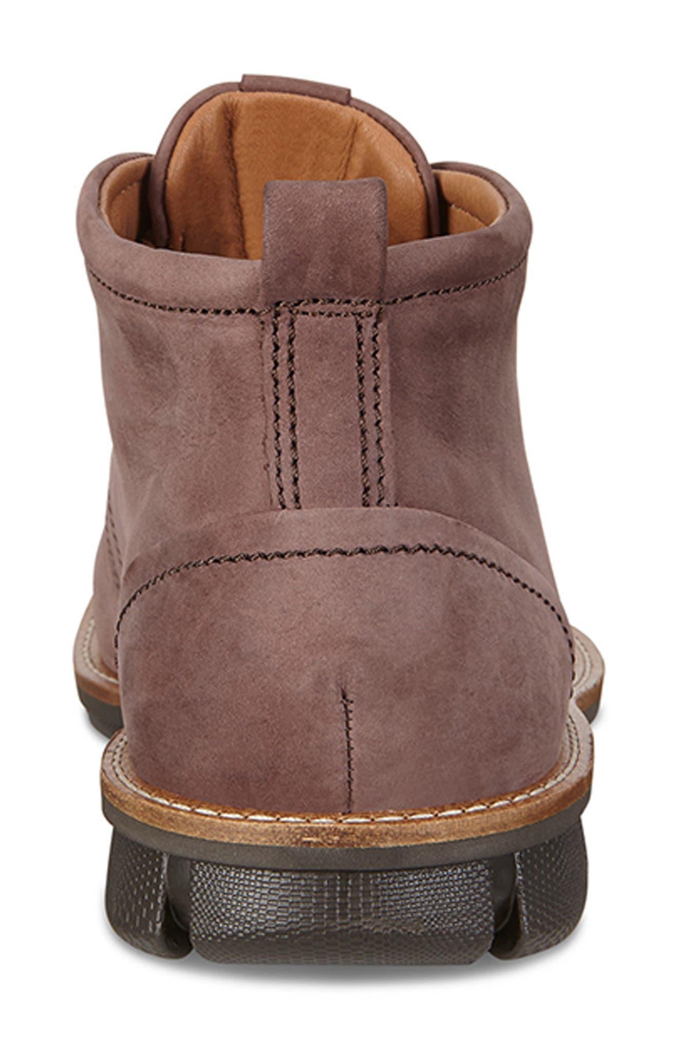 'Jeremy Hybrid' Plain Toe Boot,                             Alternate thumbnail 6, color,                             COFFEE LEATHER