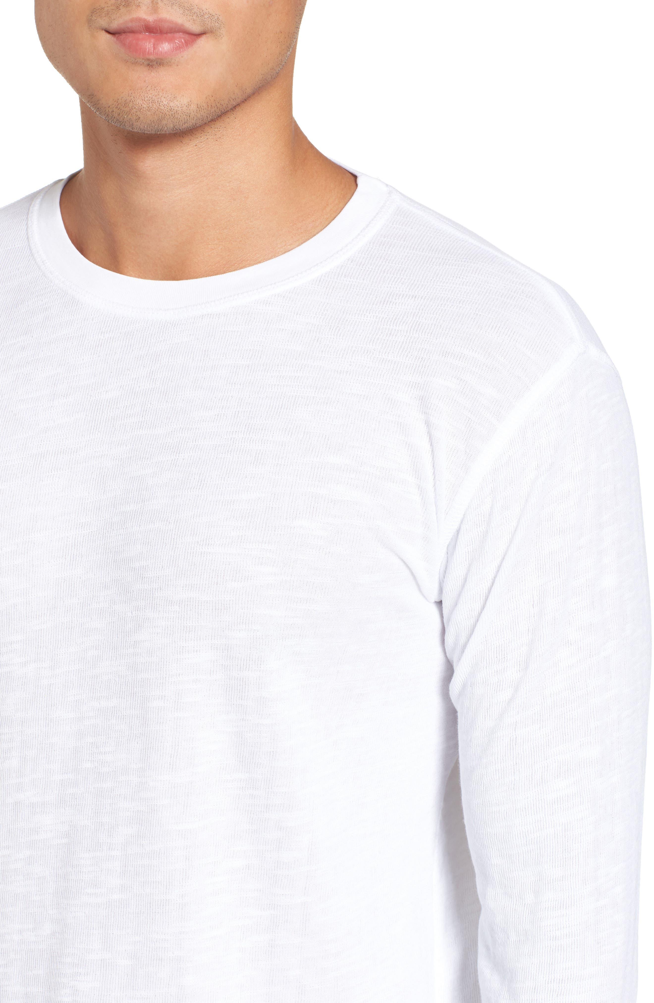 Double Layer Slim Crewneck T-Shirt,                             Alternate thumbnail 25, color,