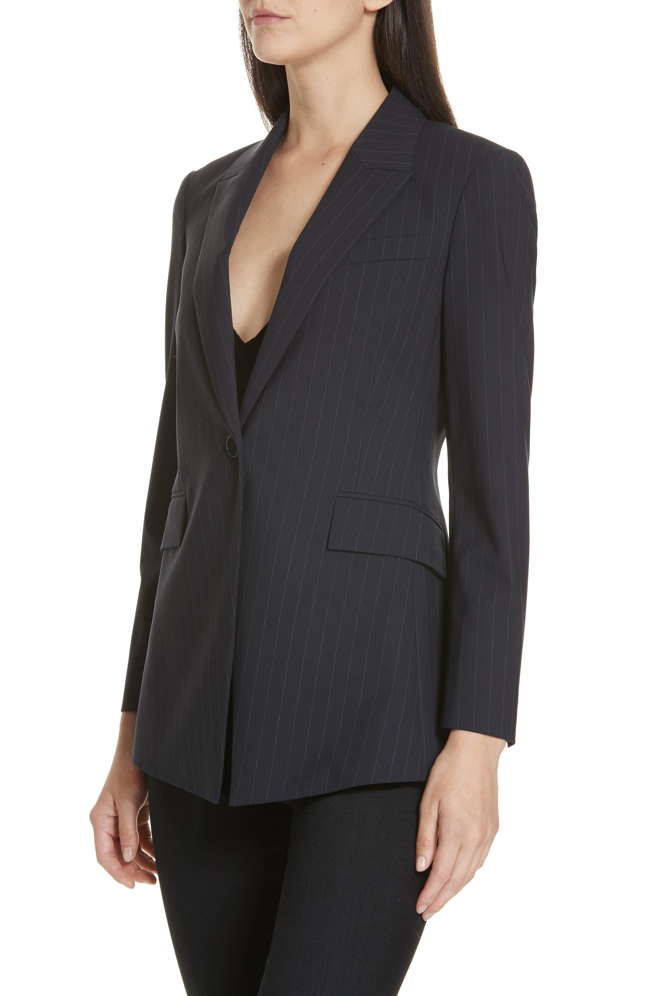 Etienette B Good Wool Suit Jacket,                             Alternate thumbnail 27, color,