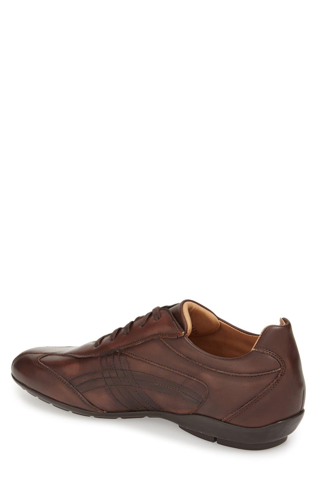 'Castelar' Lace-Up Sneaker,                             Alternate thumbnail 4, color,