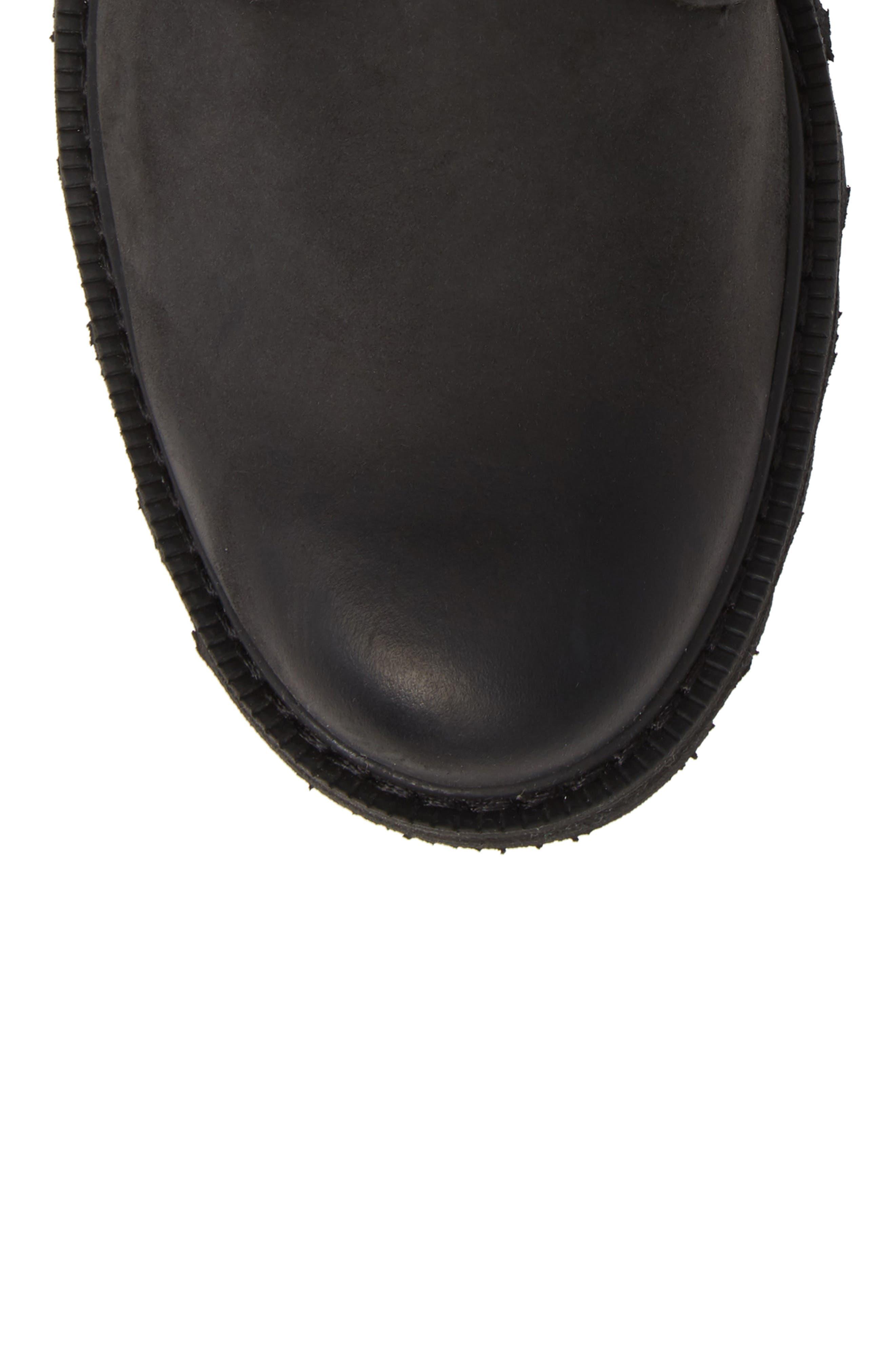 Madson Waterproof Boot,                             Alternate thumbnail 5, color,                             BLACK/ BLACK