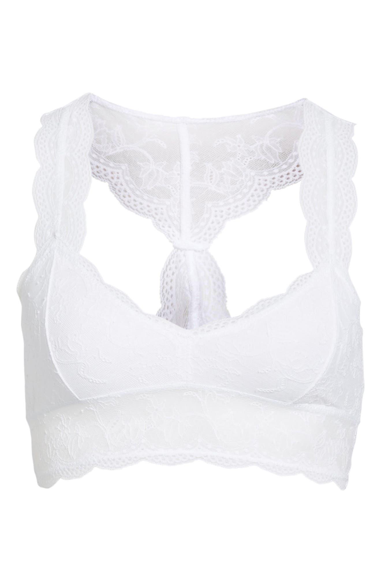 Lace Halter Bralette,                         Main,                         color, 100