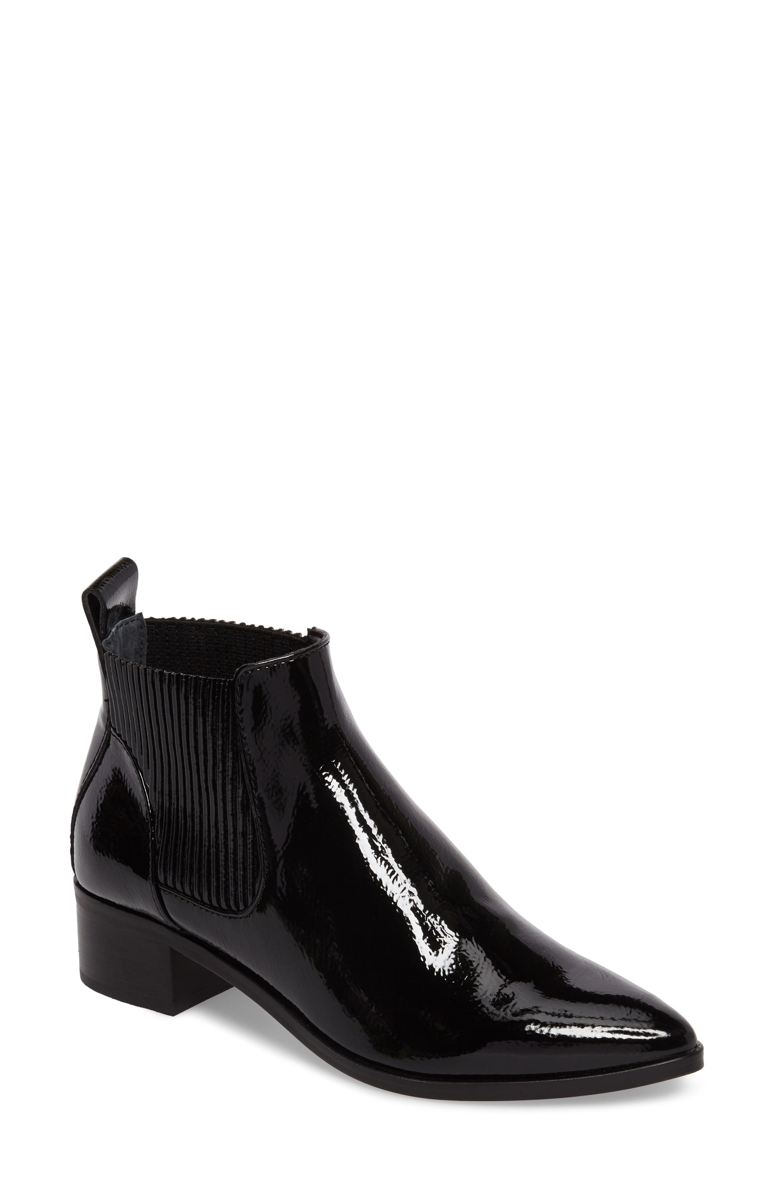 Macie Pointy Toe Chelsea Bootie,                             Main thumbnail 1, color,