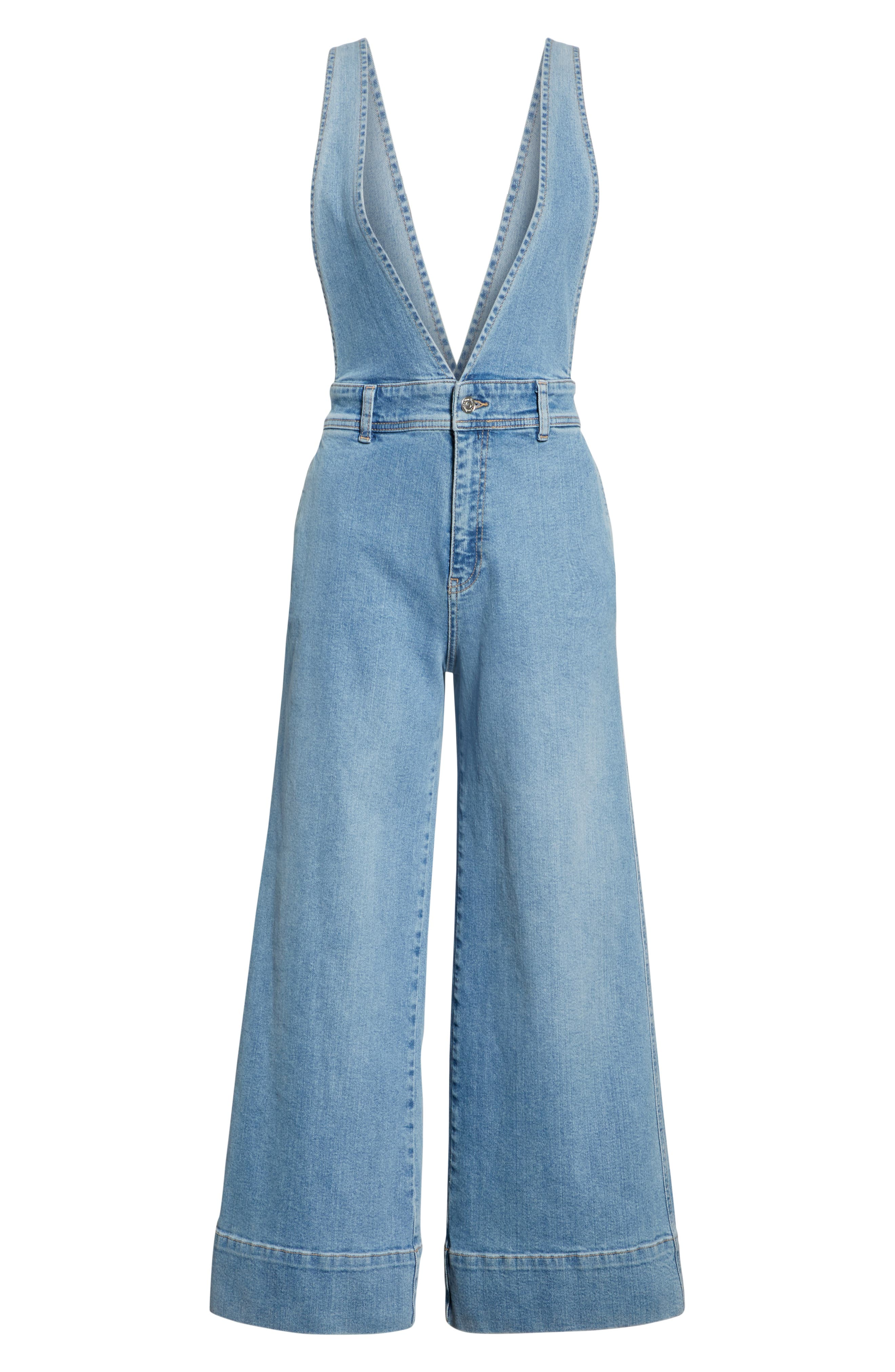 We the Free by Free People A-Line Overalls,                             Alternate thumbnail 6, color,                             456