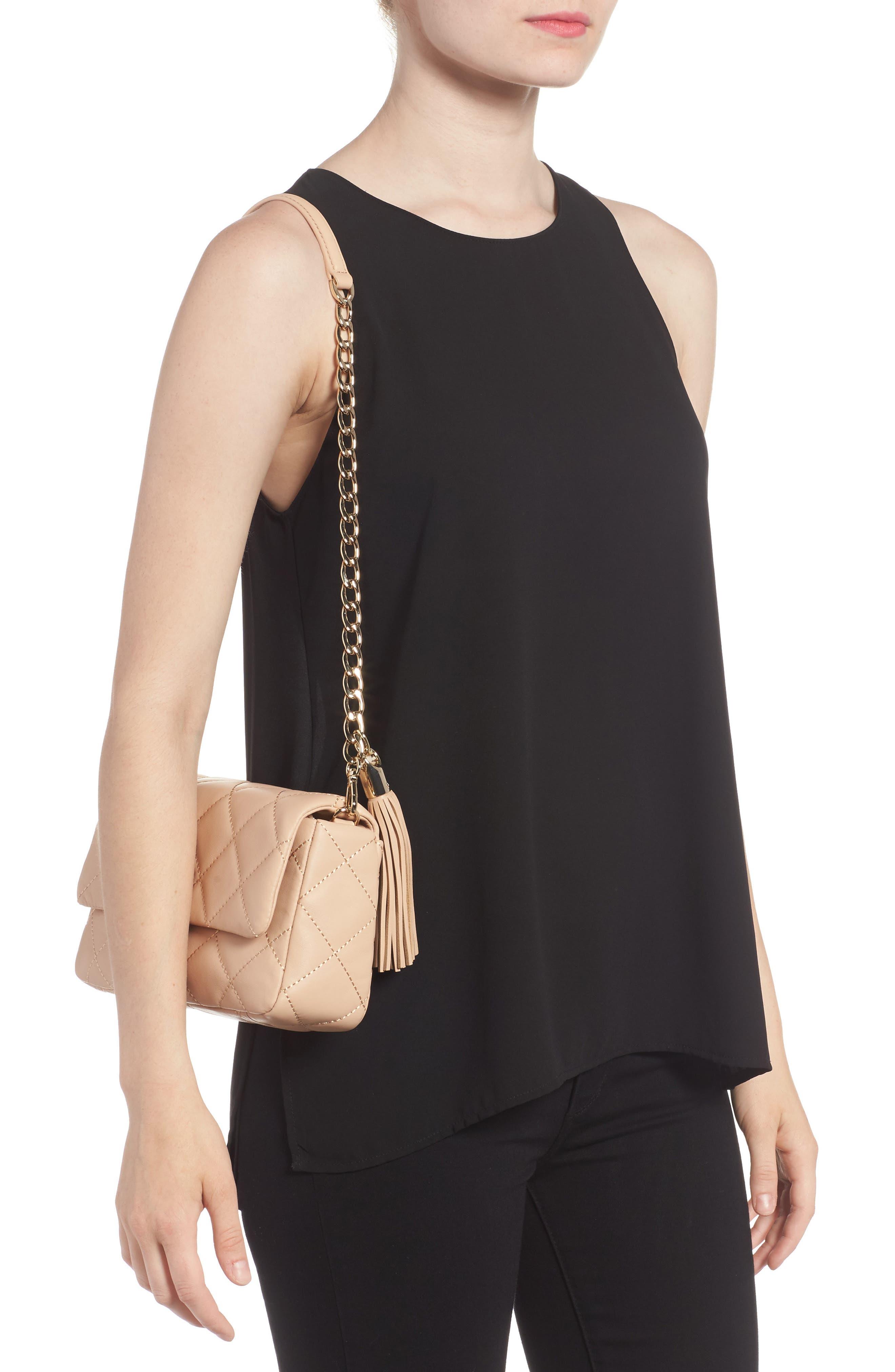 emerson place - serena leather shoulder bag,                             Alternate thumbnail 5, color,