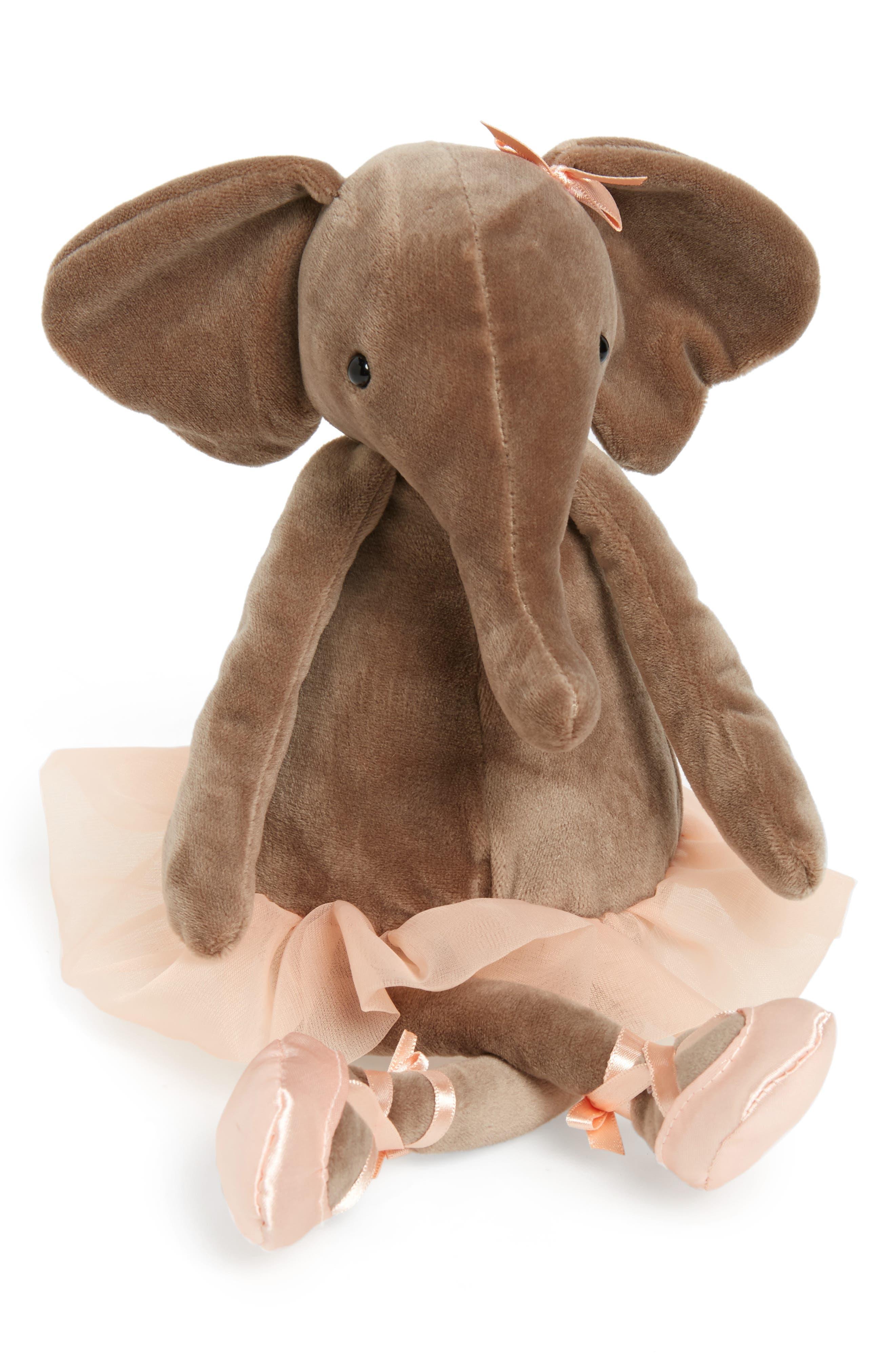 Dancing Darcey - Elephant Stuffed Animal,                             Main thumbnail 1, color,                             200