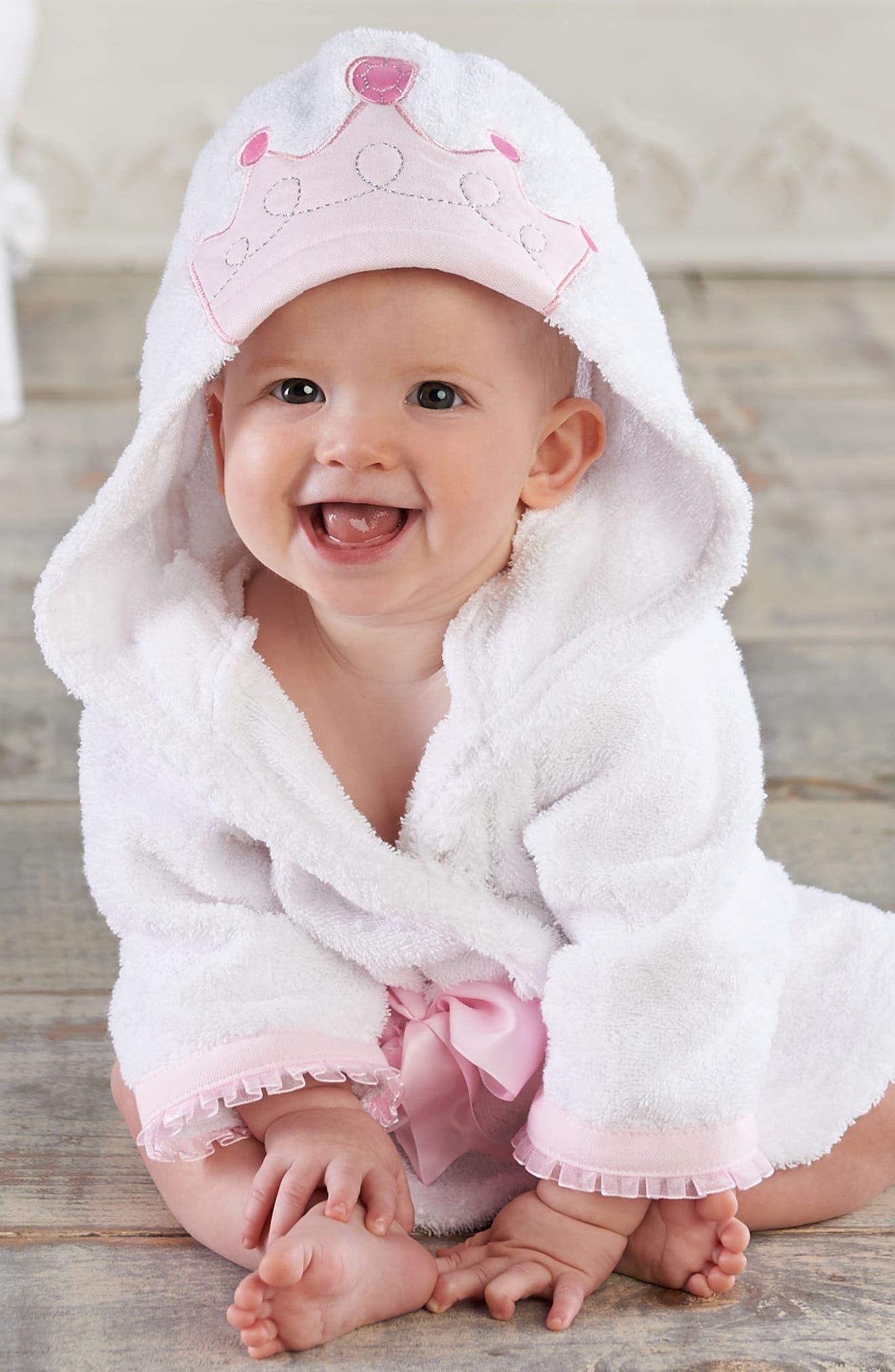 Little Princess Plush Robe, One-Piece Pajamas & Hat Set,                             Alternate thumbnail 2, color,                             690