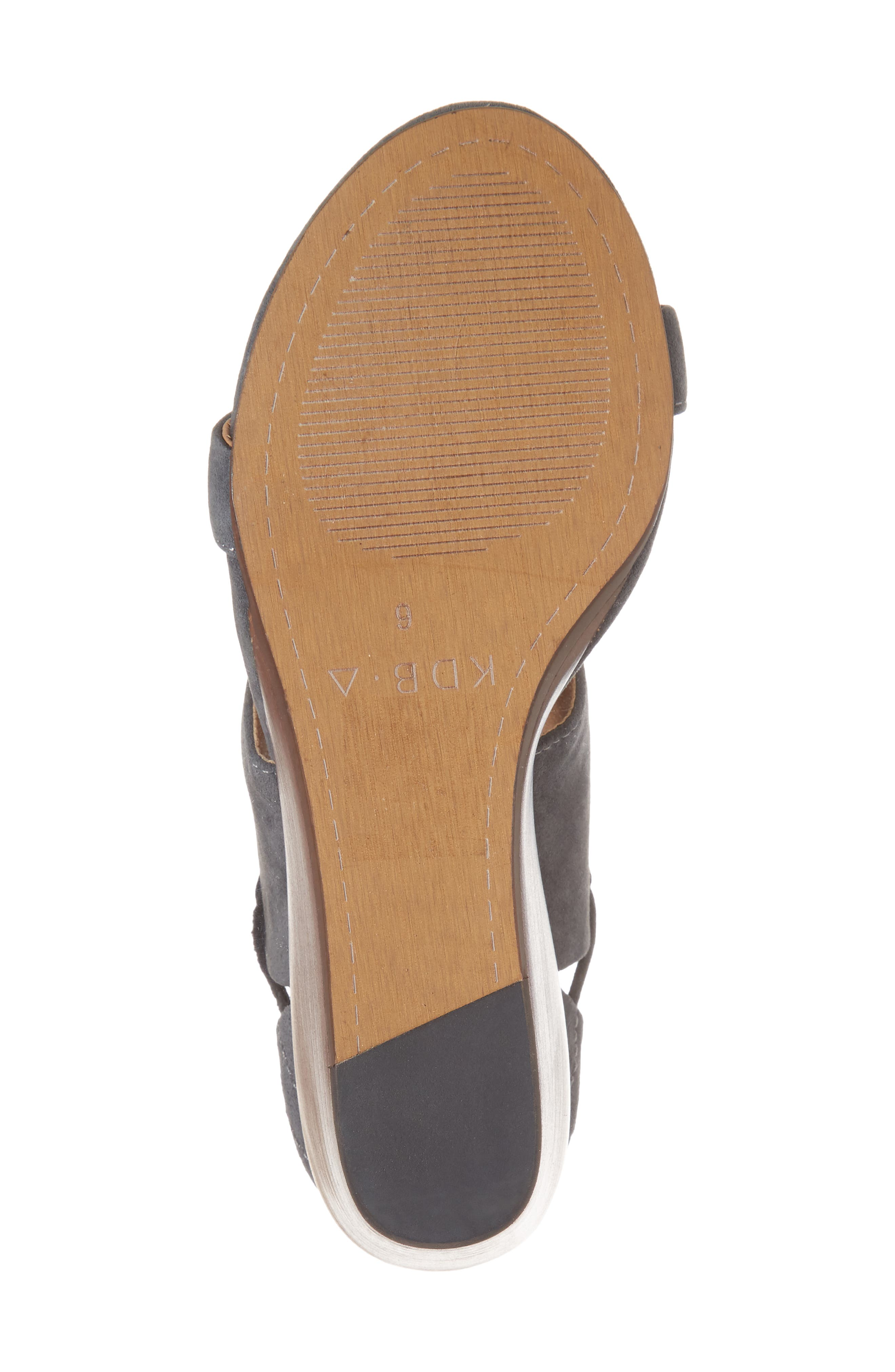 River Wedge Sandal,                             Alternate thumbnail 6, color,                             025
