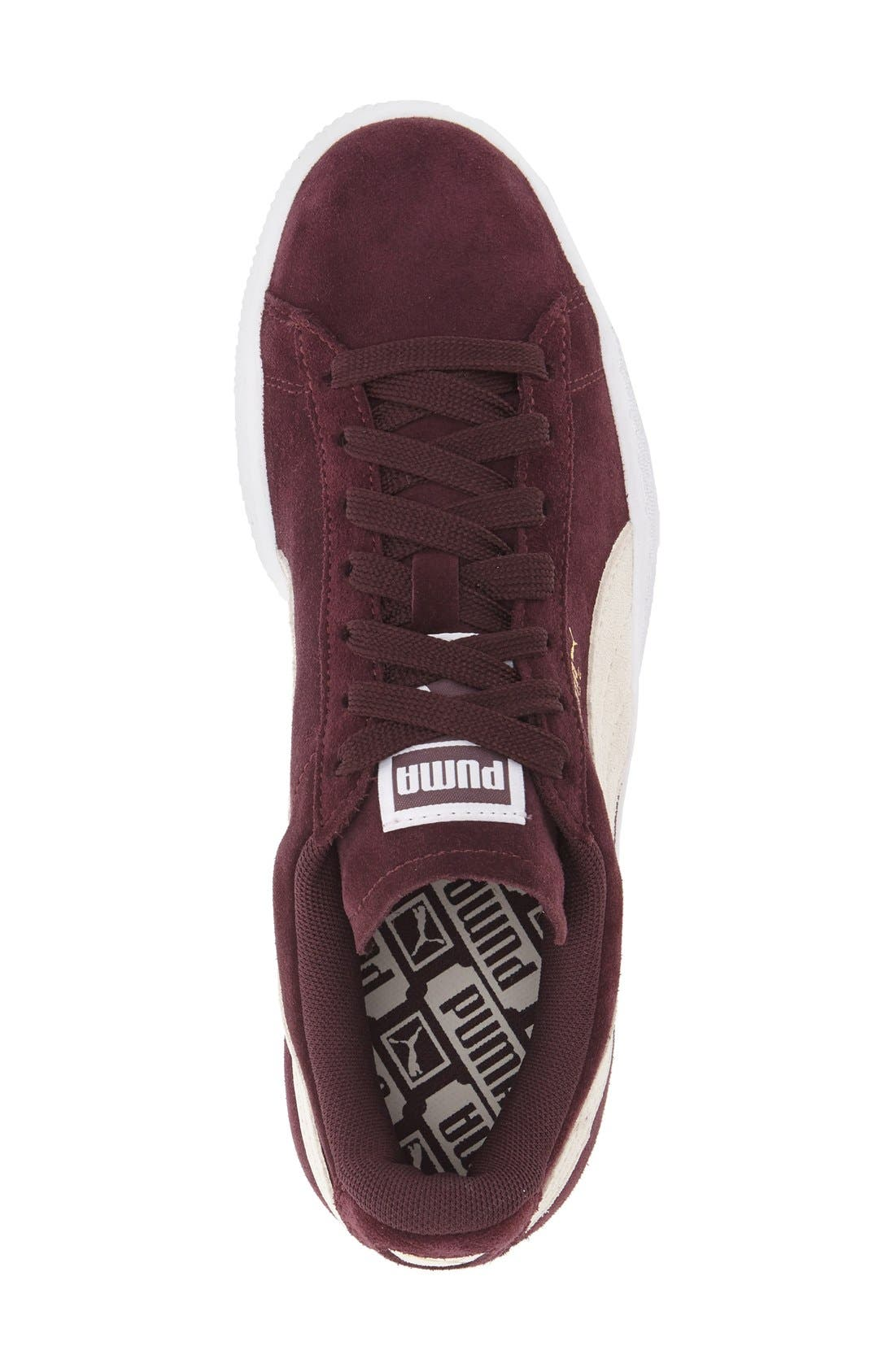 Suede Sneaker,                             Alternate thumbnail 77, color,