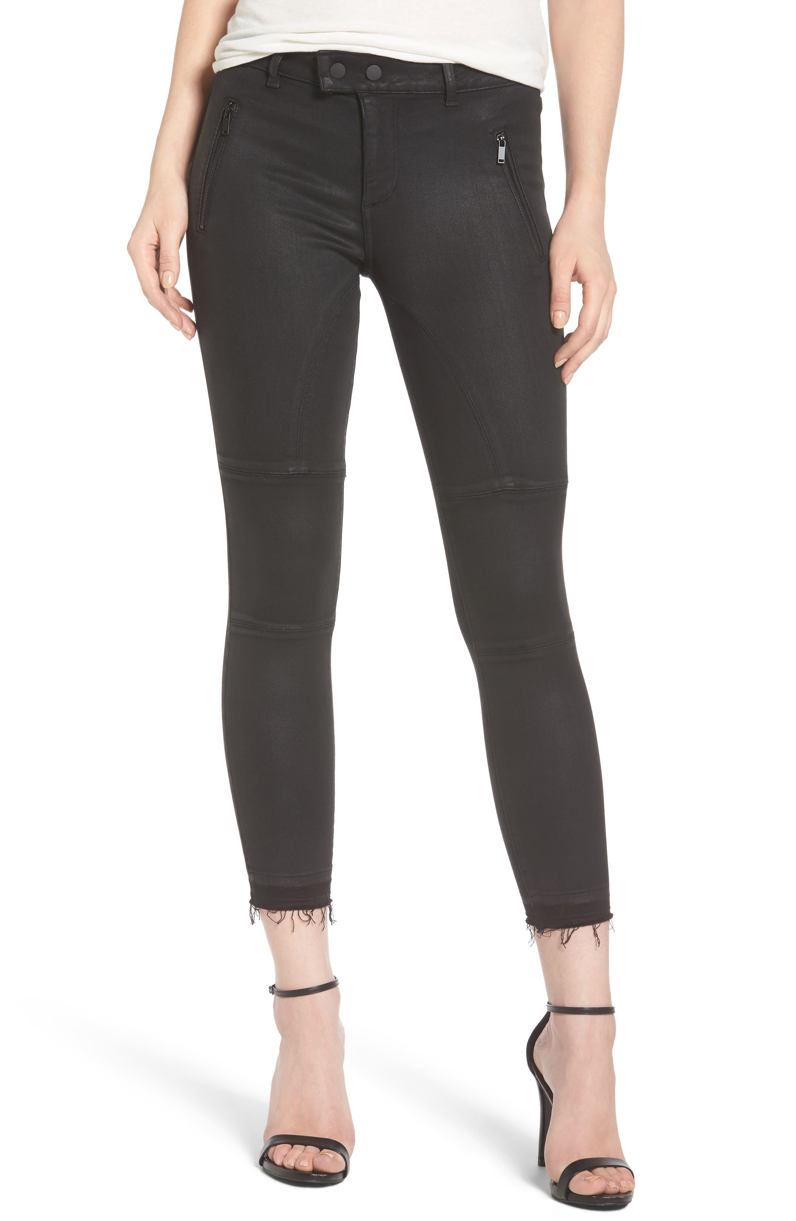 Florence Instasculpt Crop Skinny Jeans,                         Main,                         color, 001