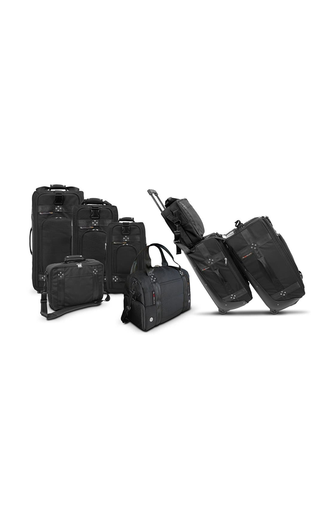 'TRS Ballistic - Executive' Backpack,                             Alternate thumbnail 5, color,                             BLACK/ BLACK