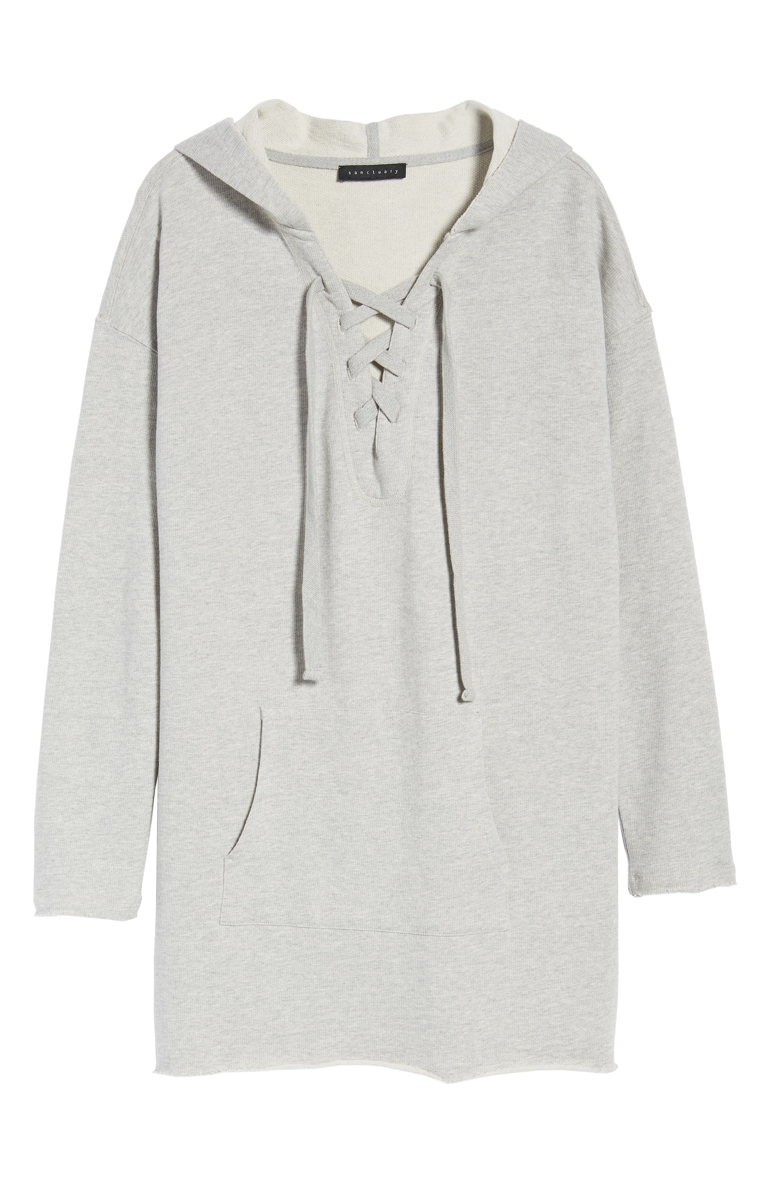 Lower East Hoodie Tunic,                             Alternate thumbnail 6, color,                             064