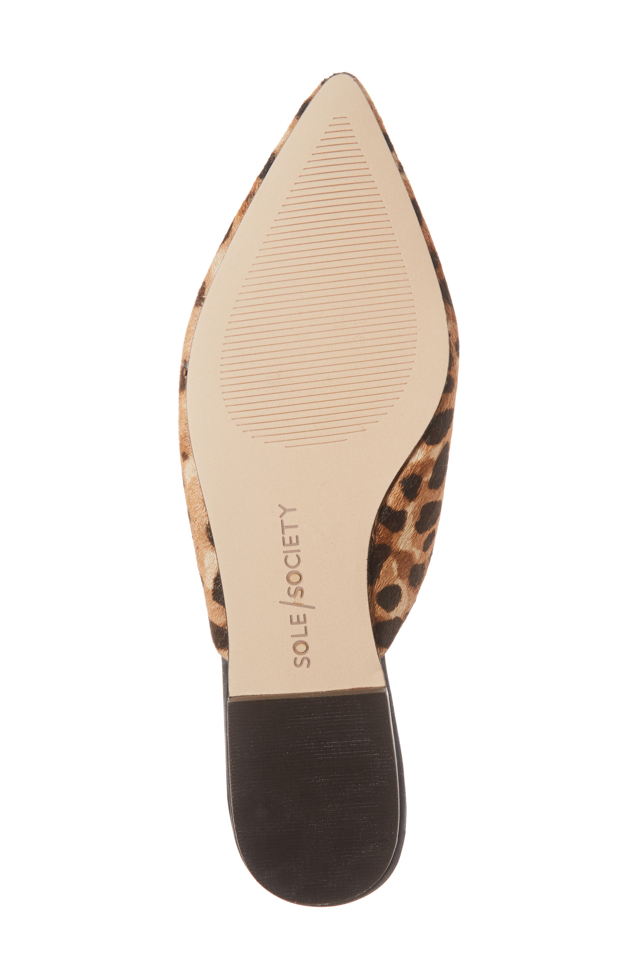 Rosemond Genuine Calf Hair Mule,                             Alternate thumbnail 6, color,                             LEOPARD HAIRCALF