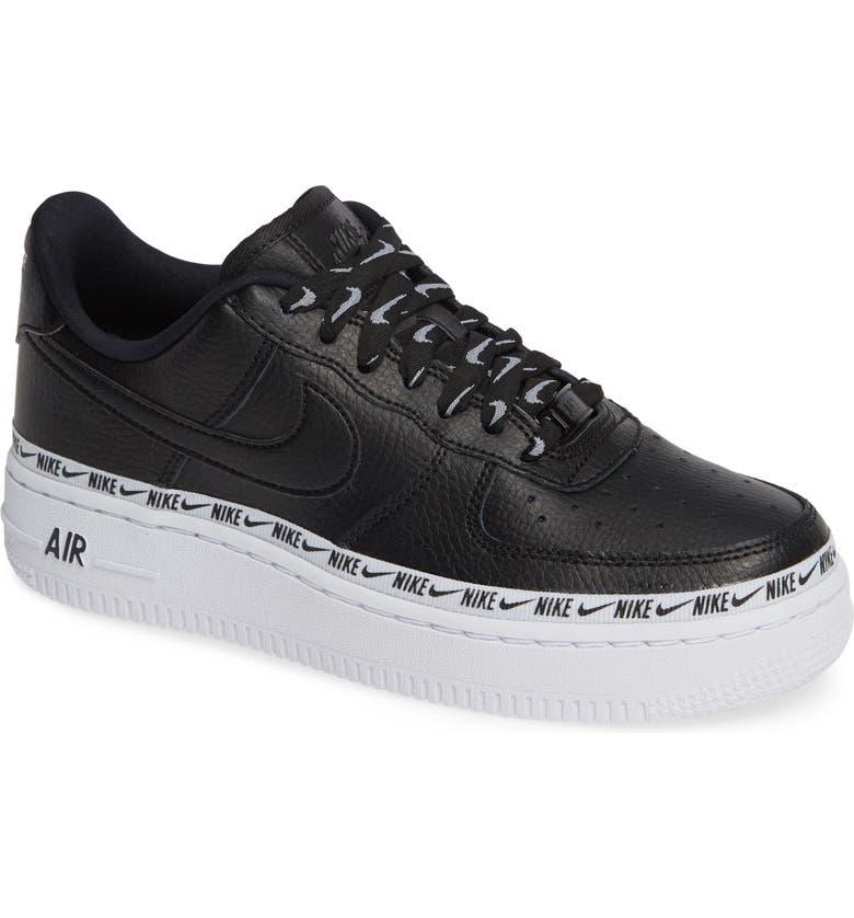 0233ce55f4d Nike Air Force 1  07 Se Premium Sneaker In Black