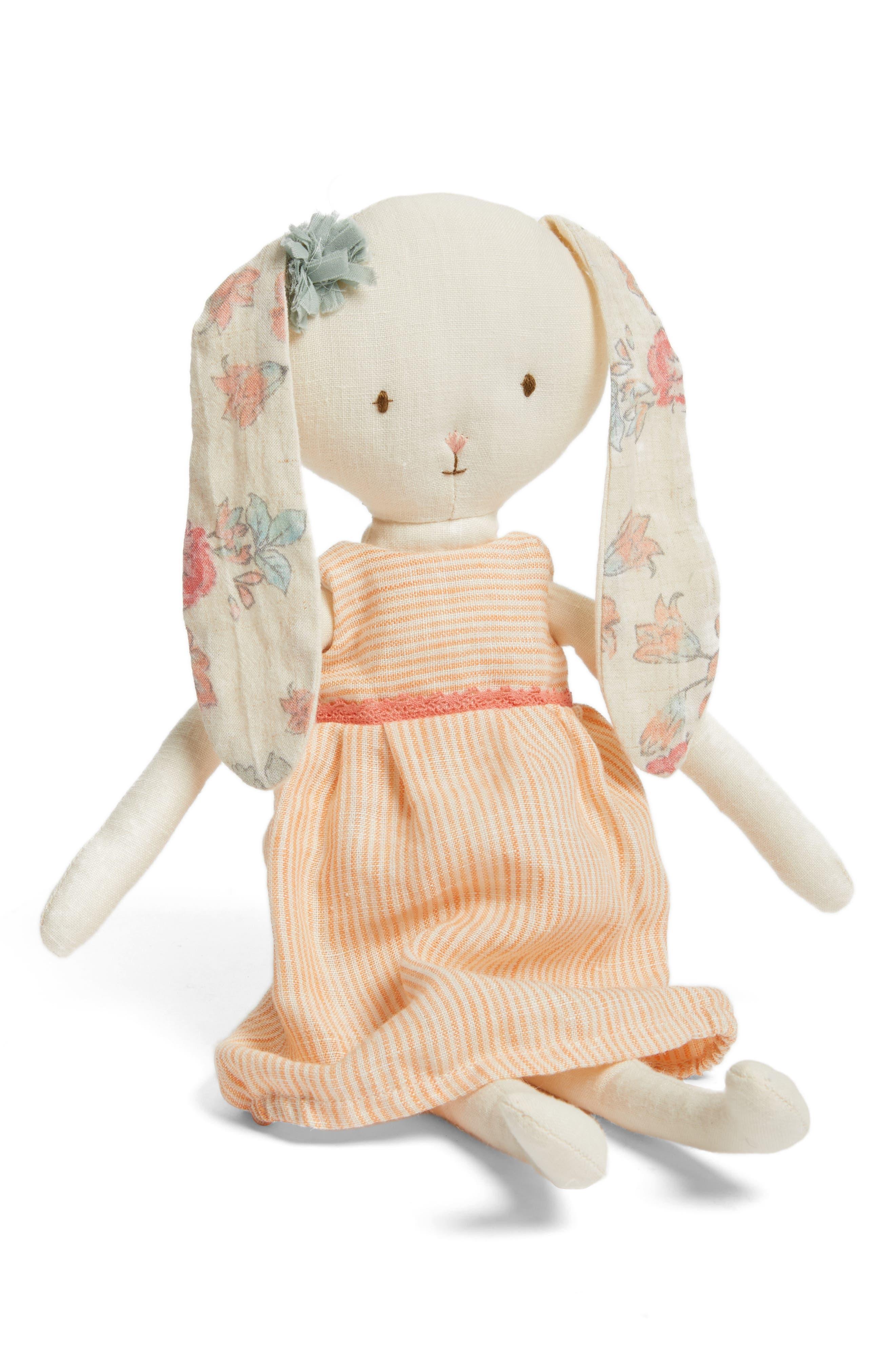 MAILEG Best Friends Bunny Stuffed Animal, Main, color, 900