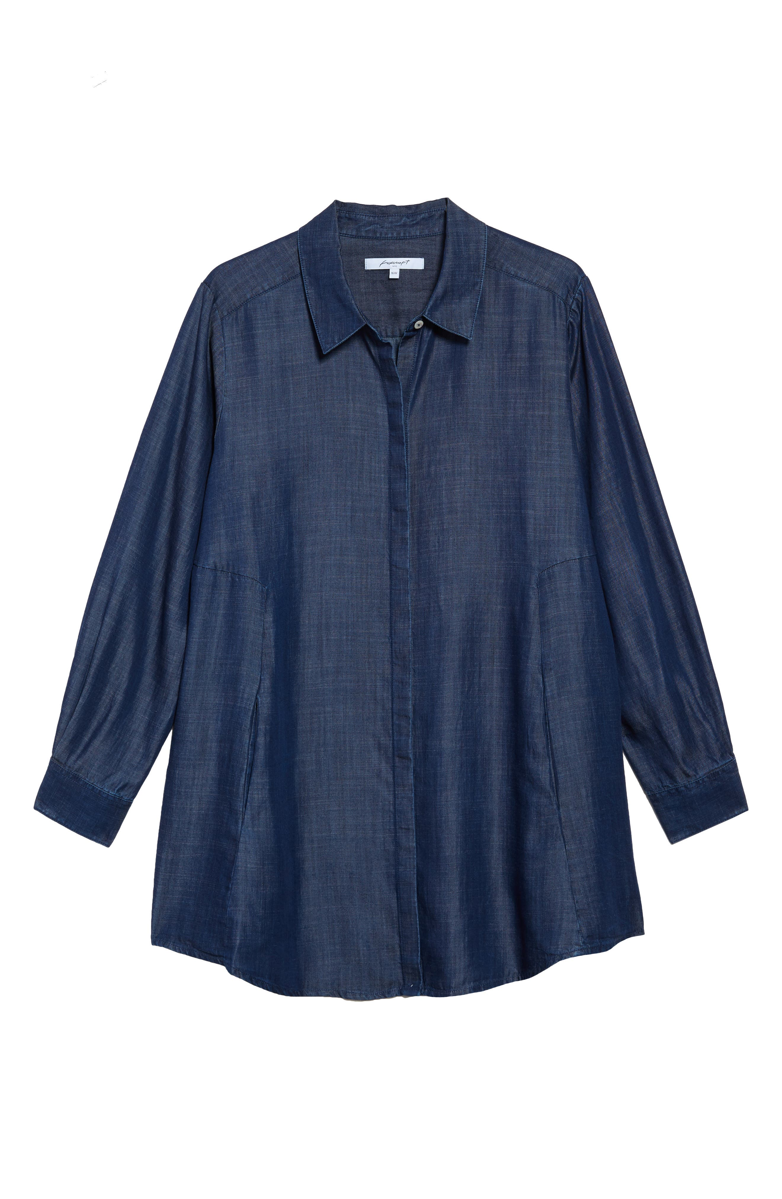 Chambray Tunic,                             Alternate thumbnail 17, color,