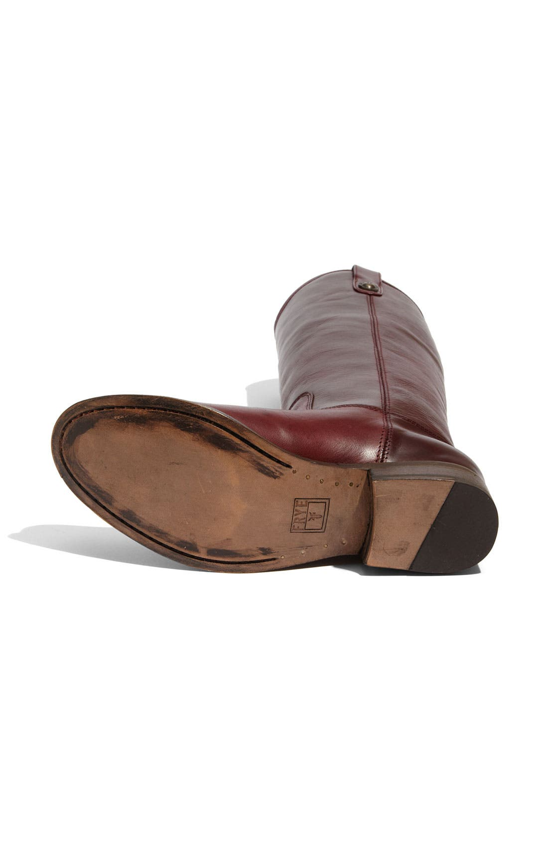 'Melissa Button' Leather Riding Boot,                             Alternate thumbnail 123, color,