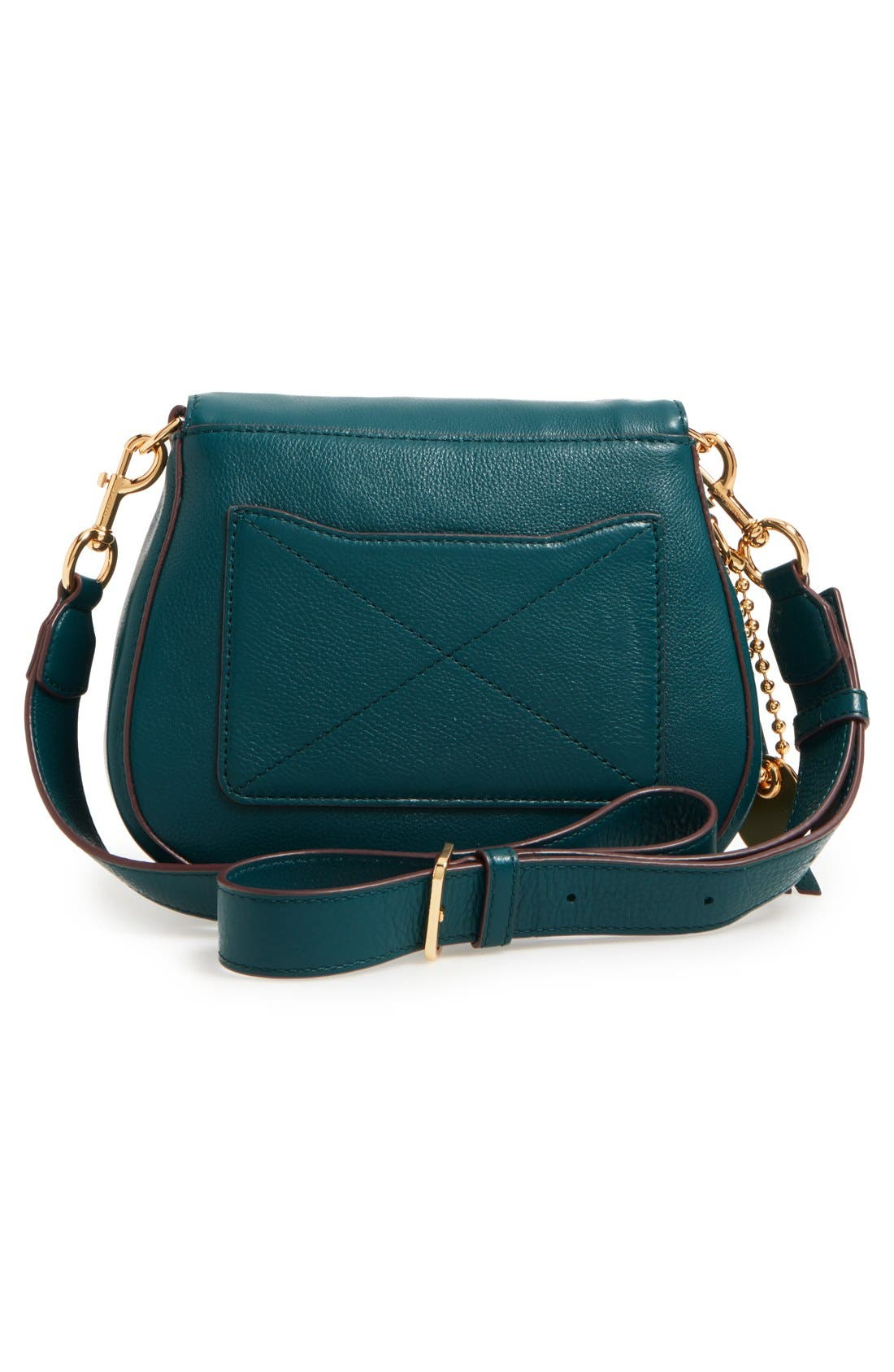 Small Recruit Nomad Pebbled Leather Crossbody Bag,                             Alternate thumbnail 37, color,