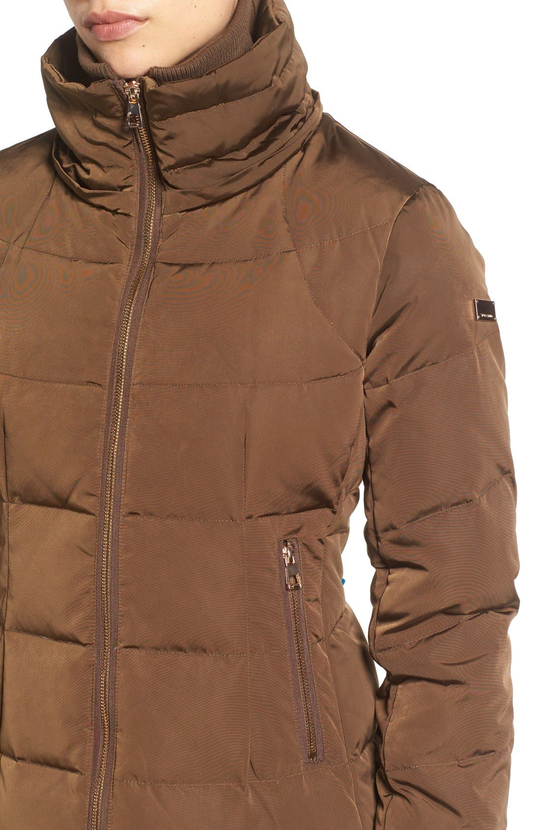 Down & Feather Fill Coat with Faux Fur Trim Hood,                             Alternate thumbnail 20, color,