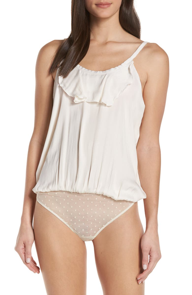 836166f1da Free People Intimately FP Not Tired Thong Bodysuit